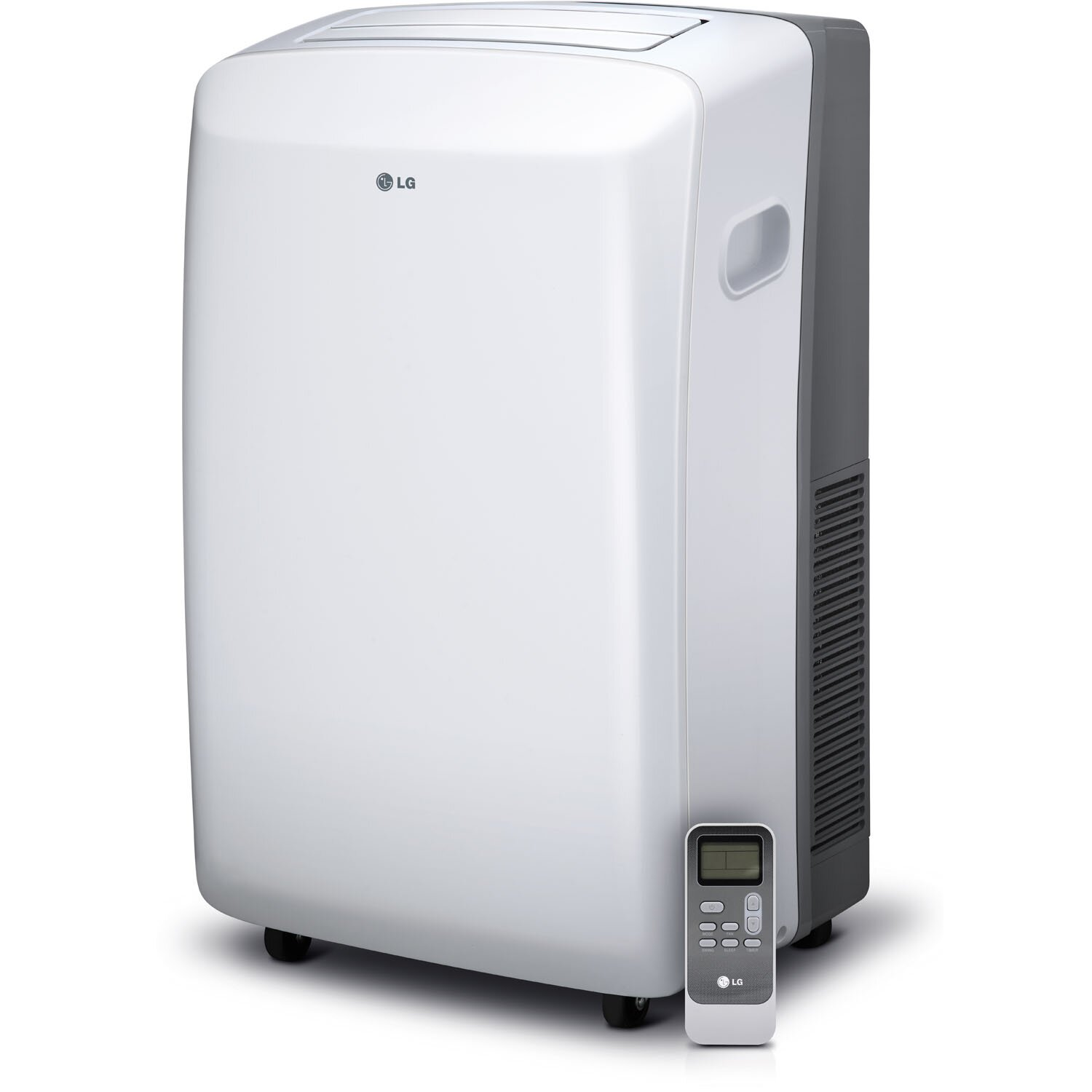 LG 10 000 BTU Portable Air Conditioner with Remote Control & Reviews  #5D5D6E