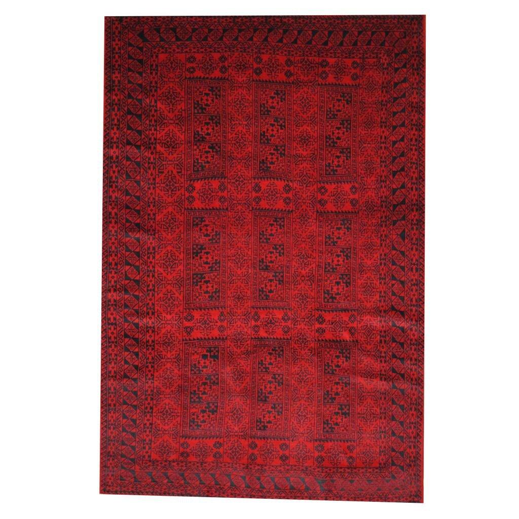 Wayfair Rugs: Herat Oriental Balouchi Red/Black Area Rug