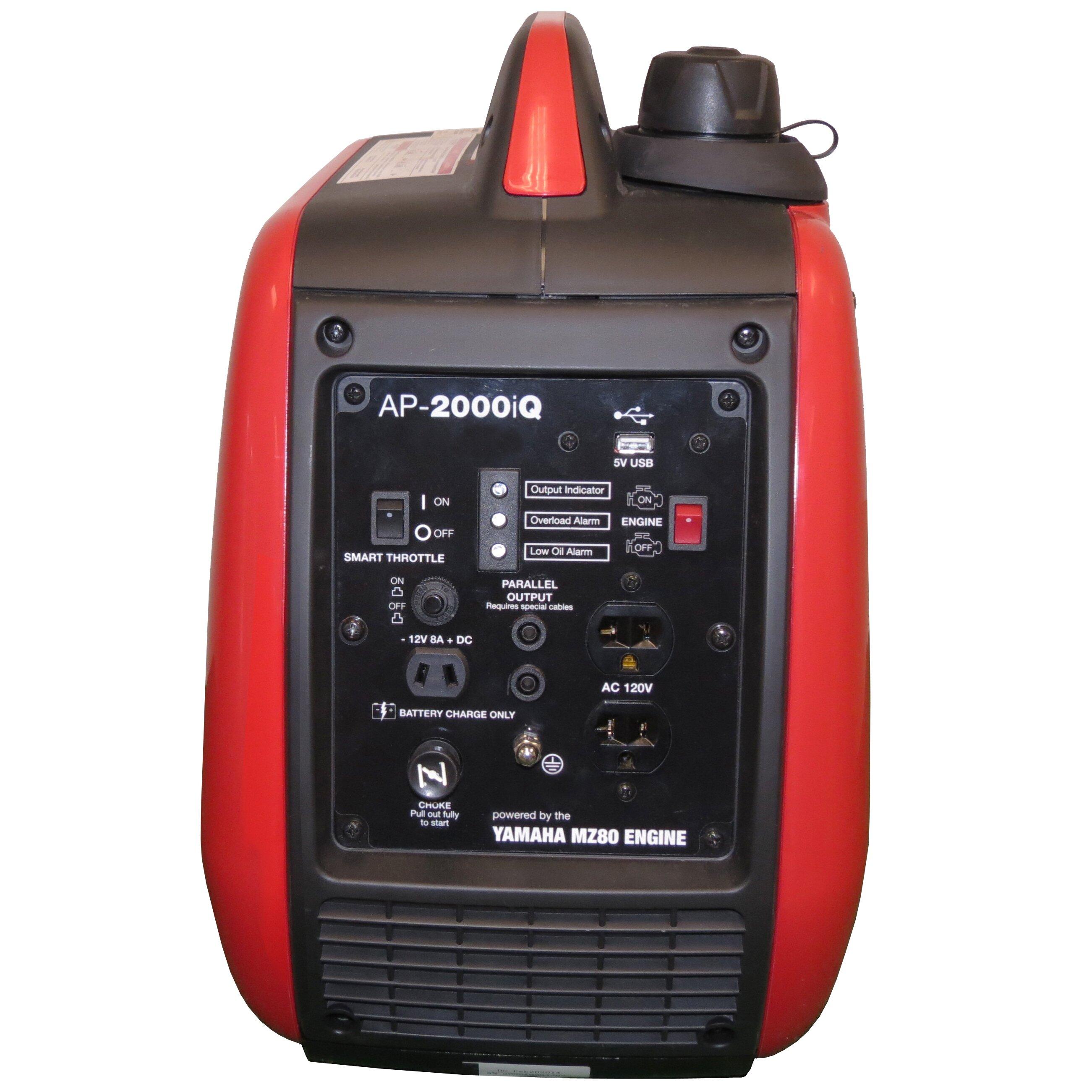 Smarter Tools 2000 Watt Carb Gasoline Inverter Generator
