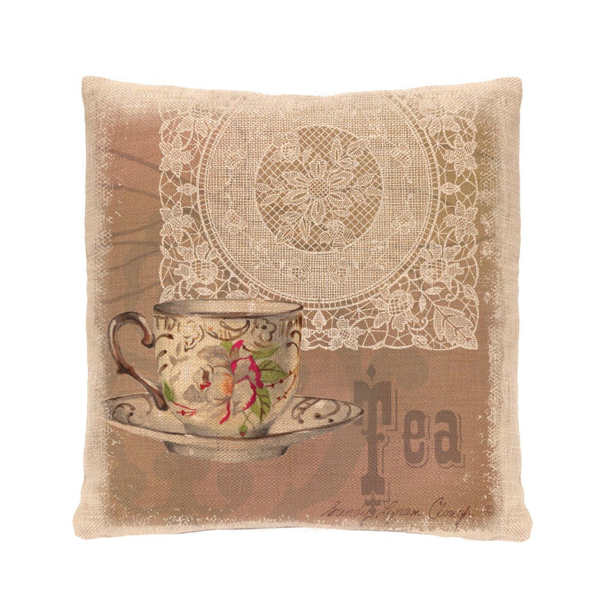 Cream Lace Throw Pillows : Heritage Lace Downton Abbey Cotton Throw Pillow Wayfair