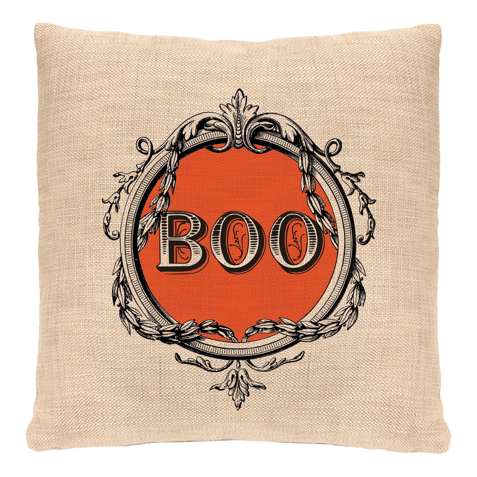 Decorative Pillows With Lace : Heritage Lace Halloween Frames Throw Pillow Wayfair