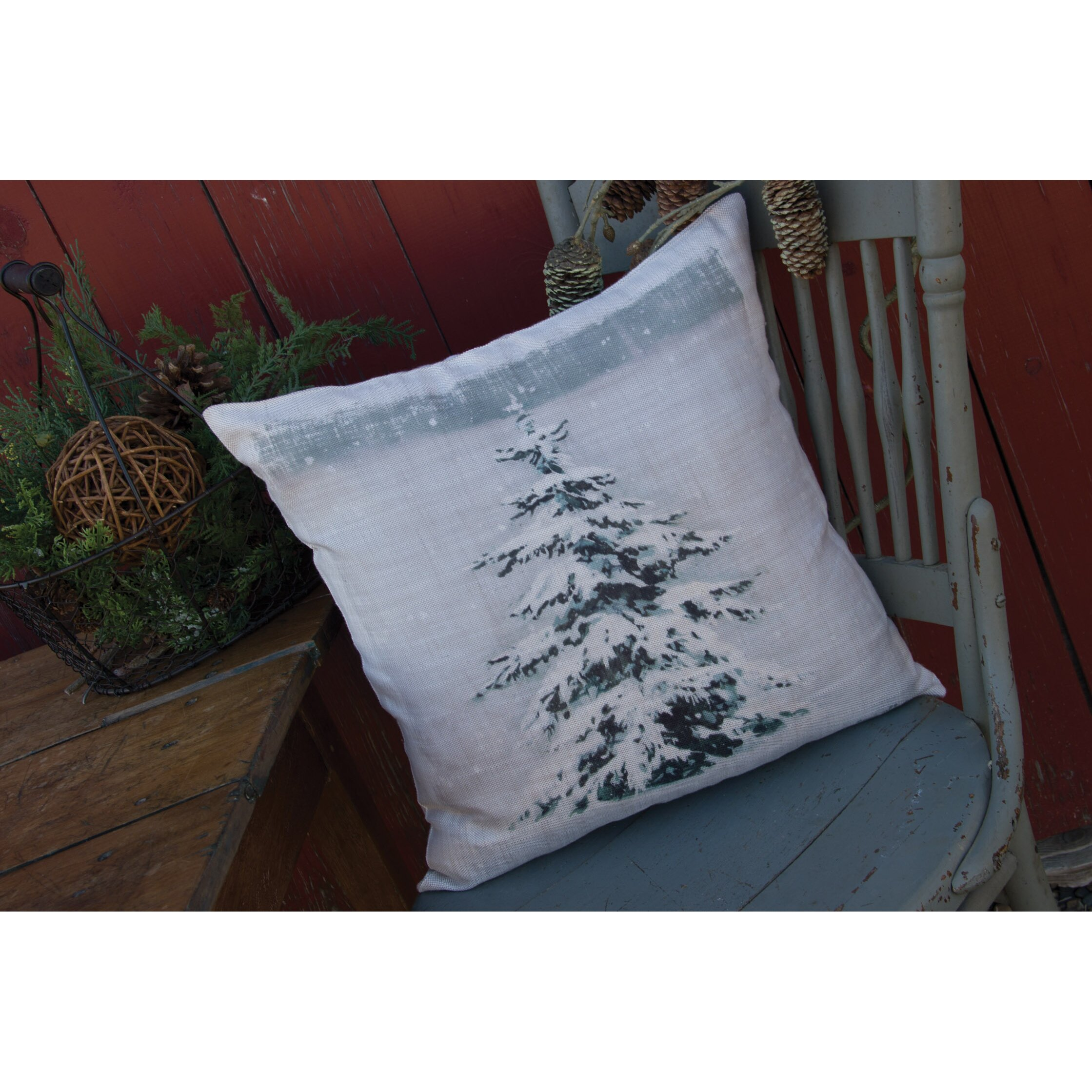 Heritage Lace Yuletide Throw Pillow & Reviews Wayfair