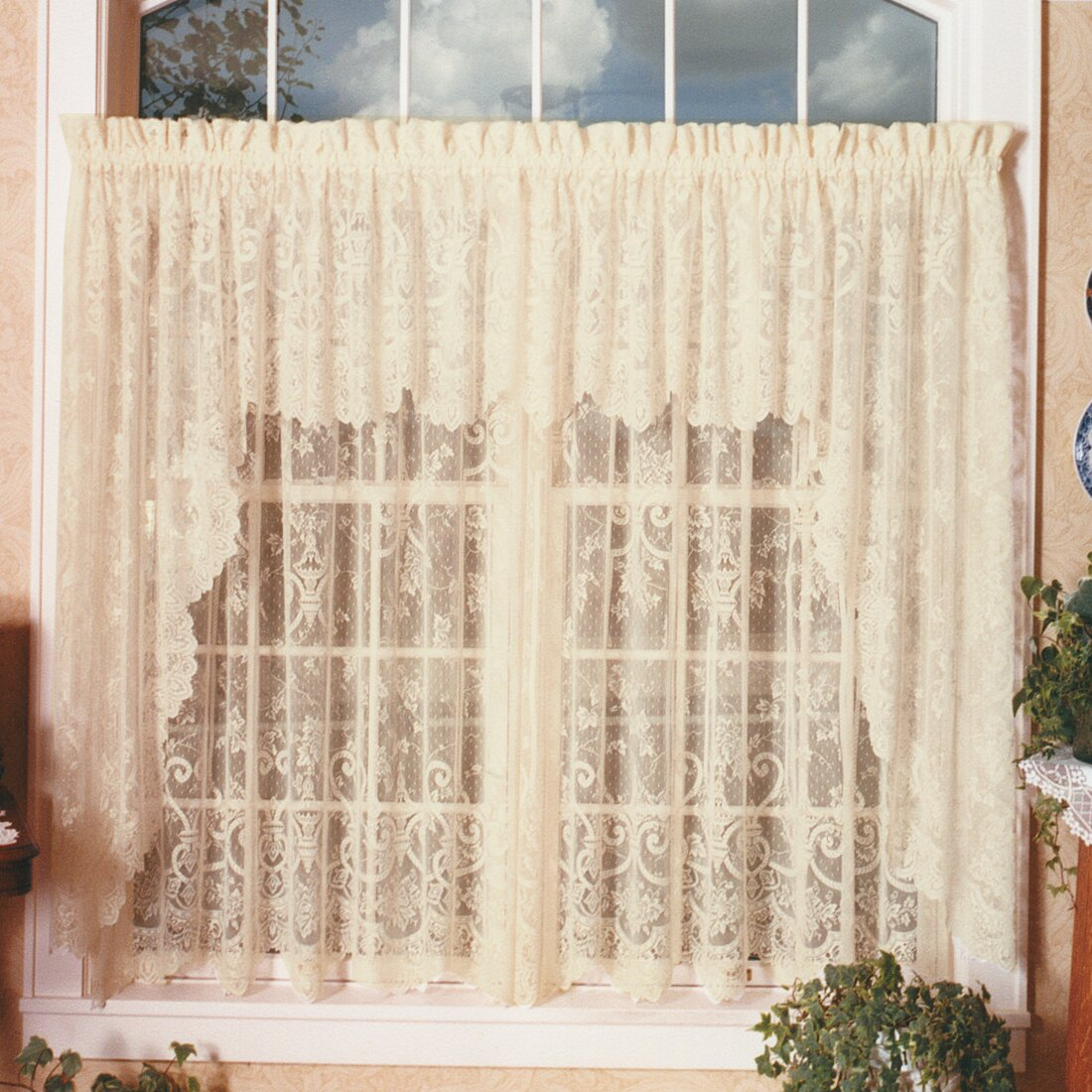 wayfair curtains on sale heritage lace 60 quot curtain valance amp reviews wayfair 7022