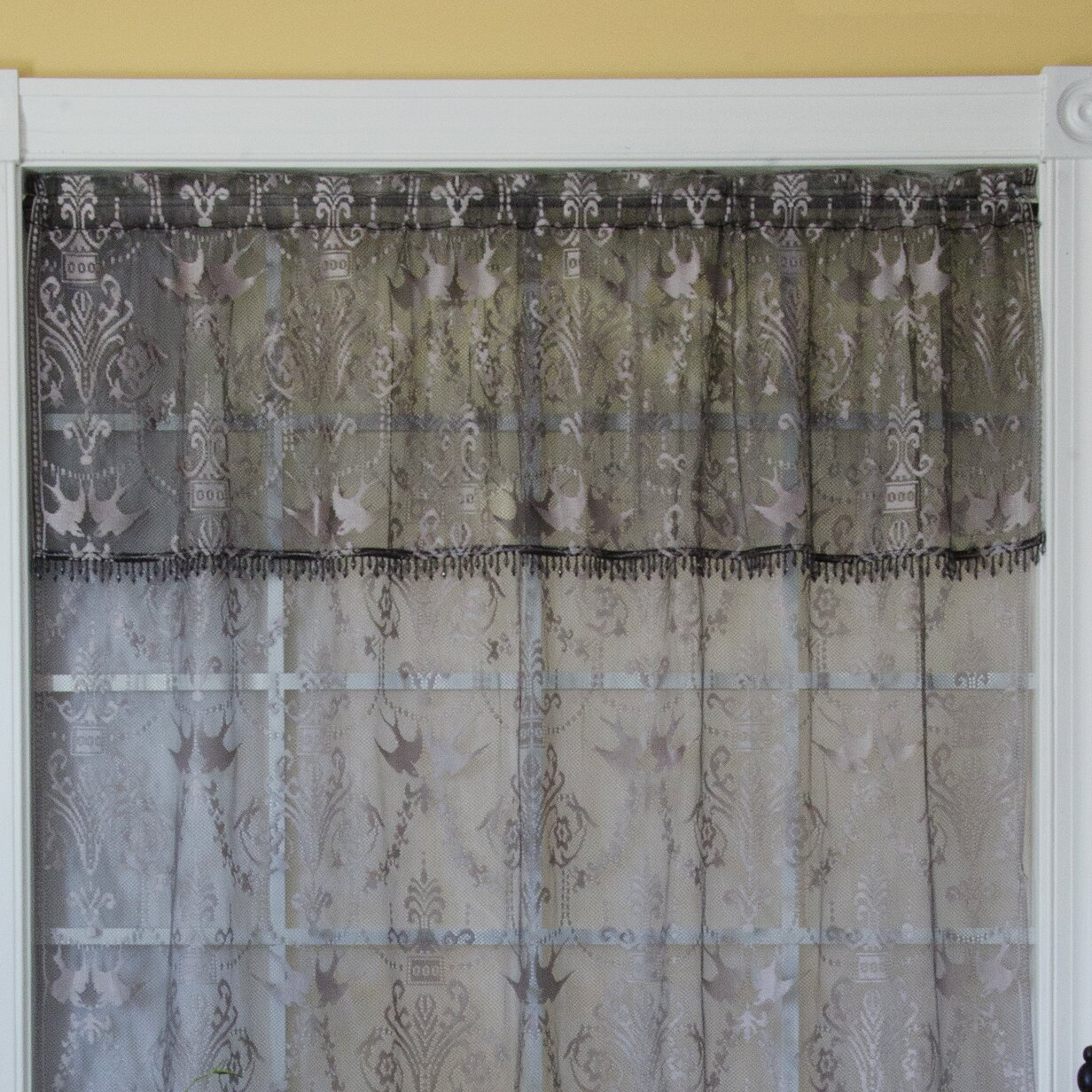 Heritage Lace Duchess Curtain Valance Amp Reviews Wayfair