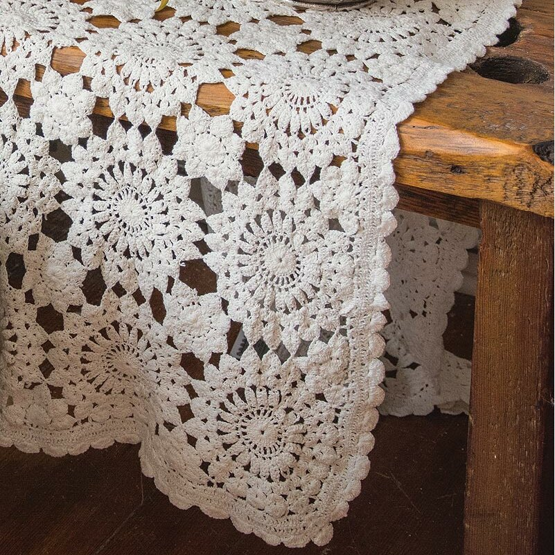 Crochet Table Runner : Heritage Lace Ribbon Crochet Table Runner Wayfair