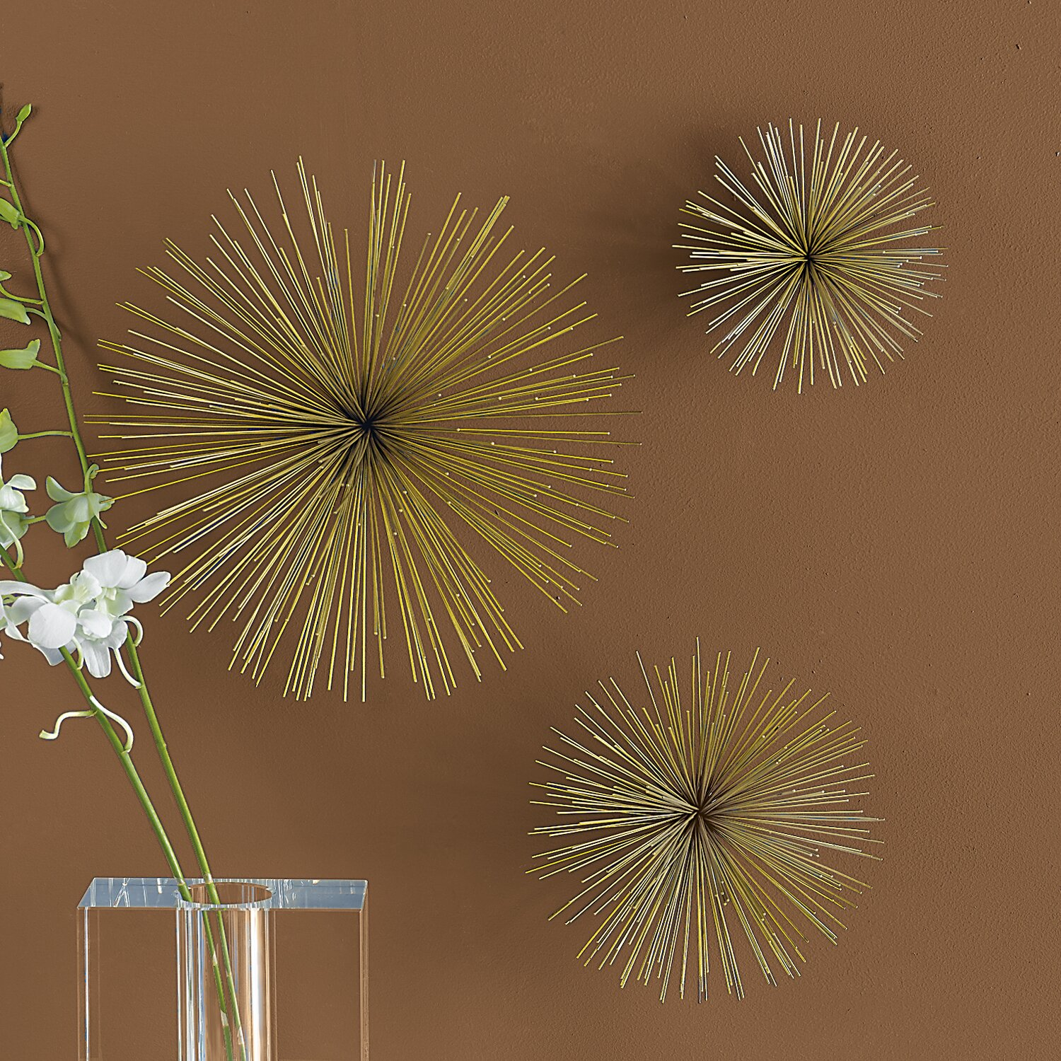 Twos pany Wall Flowers Wall Décor & Reviews