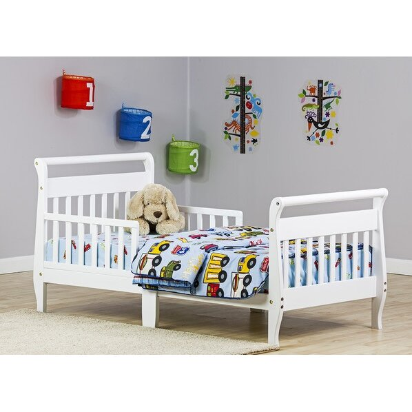 Dream On Me Toddler Sleigh Bed With Safety Rails Amp Reviews