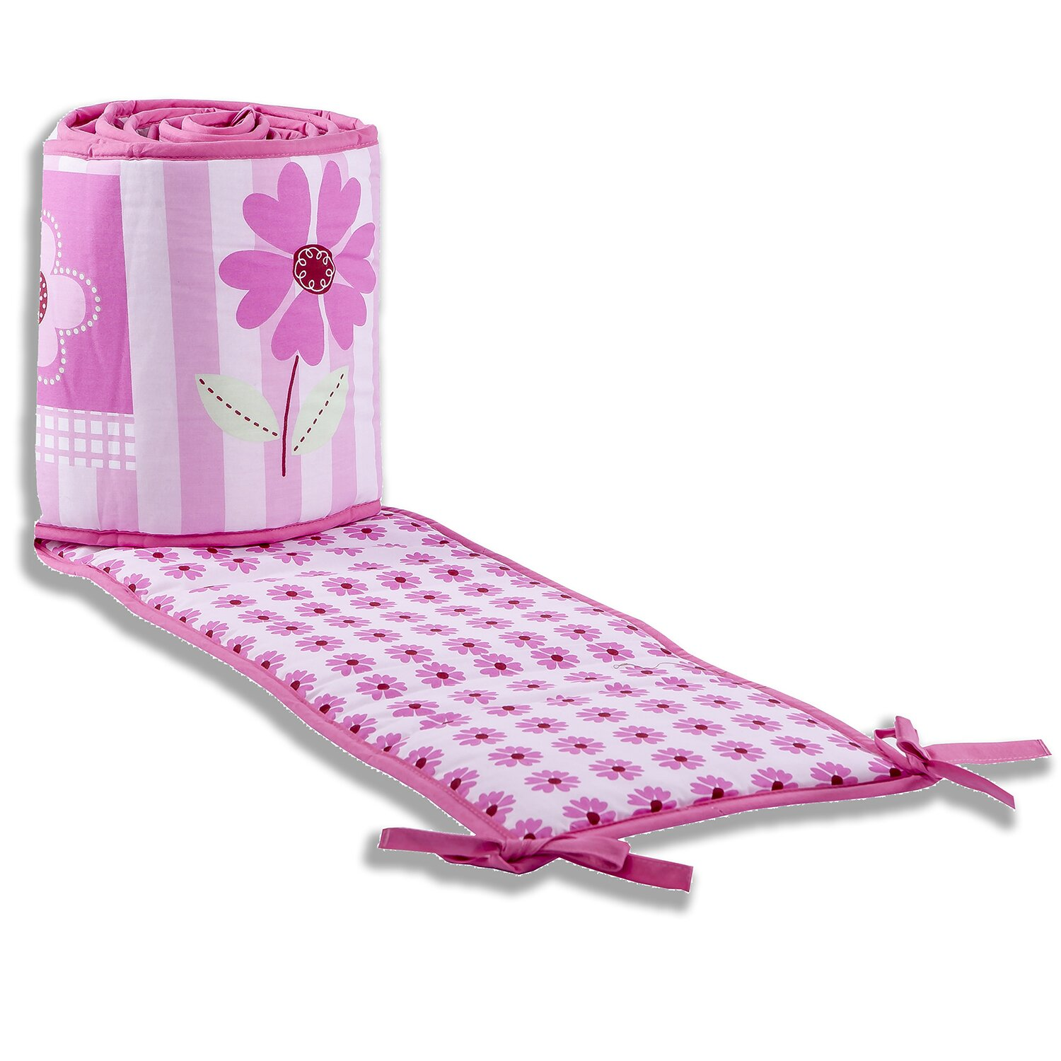 Dream On Me Butterfly And Flower 3 Piece Crib Bedding Set
