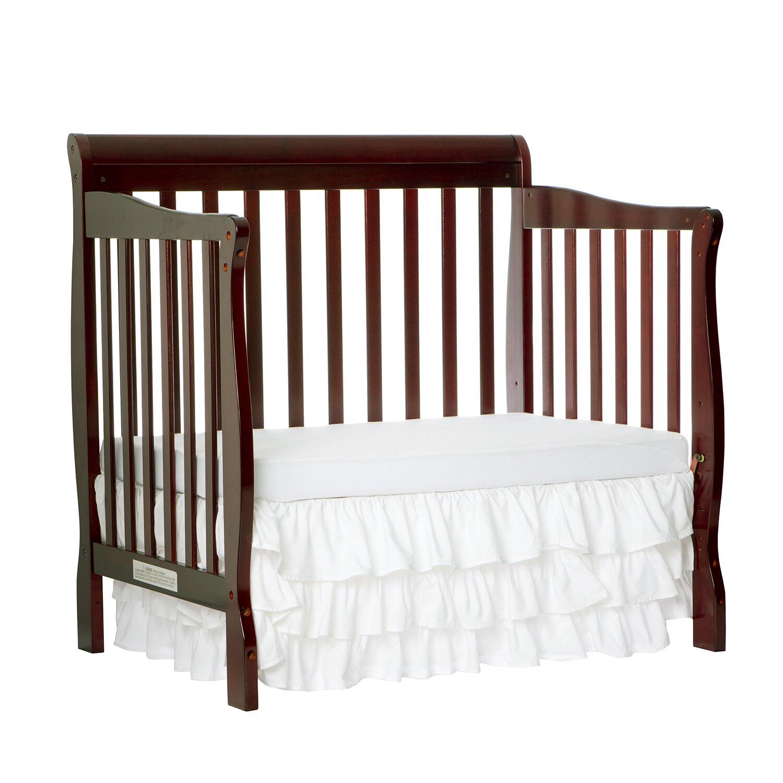 Dream On Me Aden 4-in-1 Mini Convertible Crib & Reviews ...