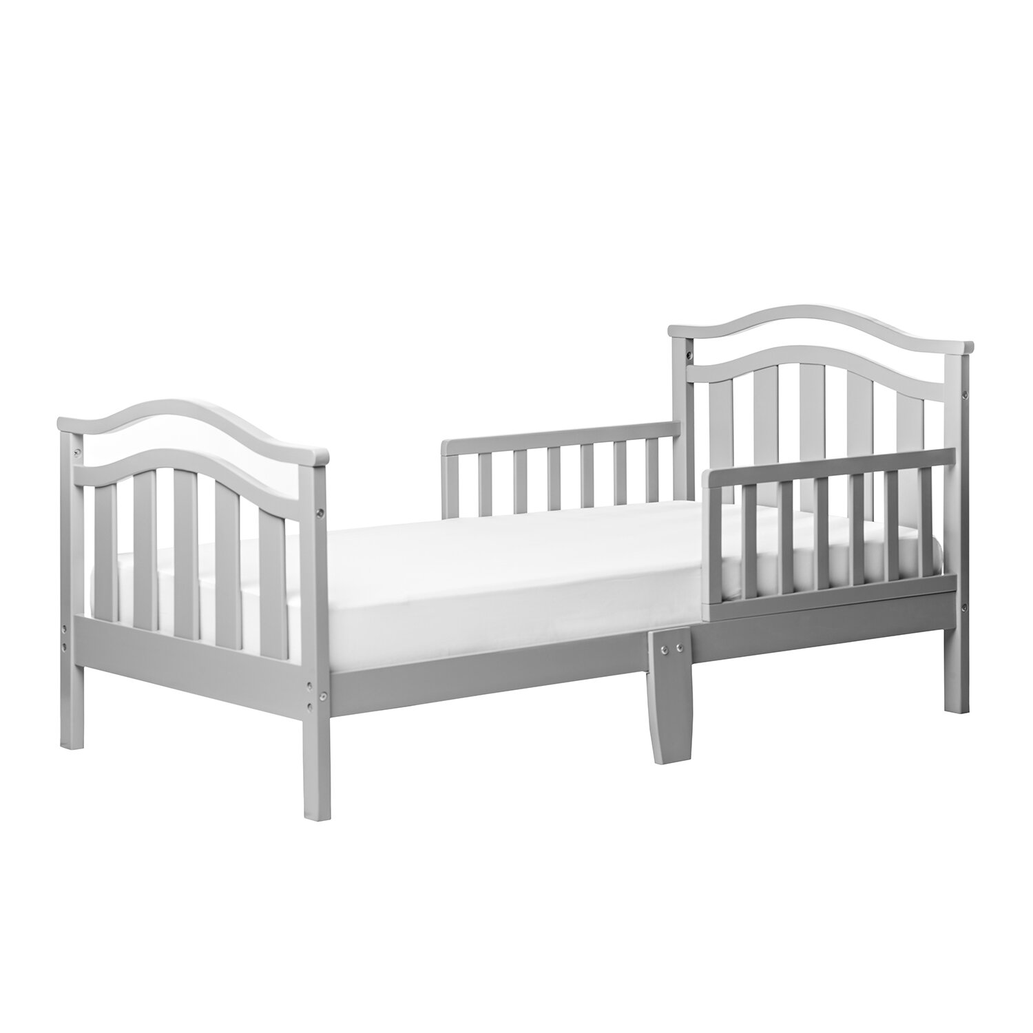 Dream On Me Elora Toddler Bed with Safety Rail & Reviews ...