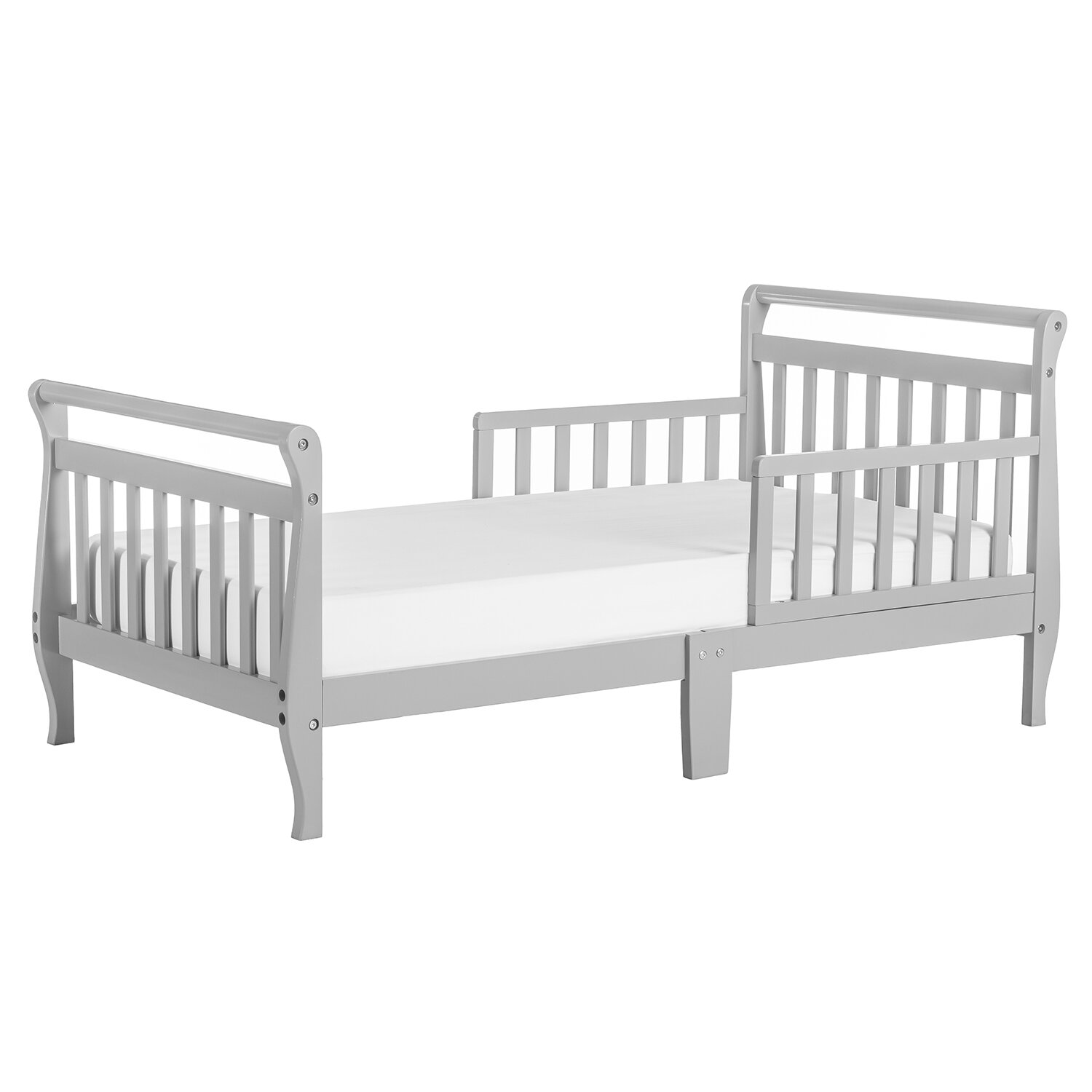 The Dream On Me Sleigh Toddler Bed