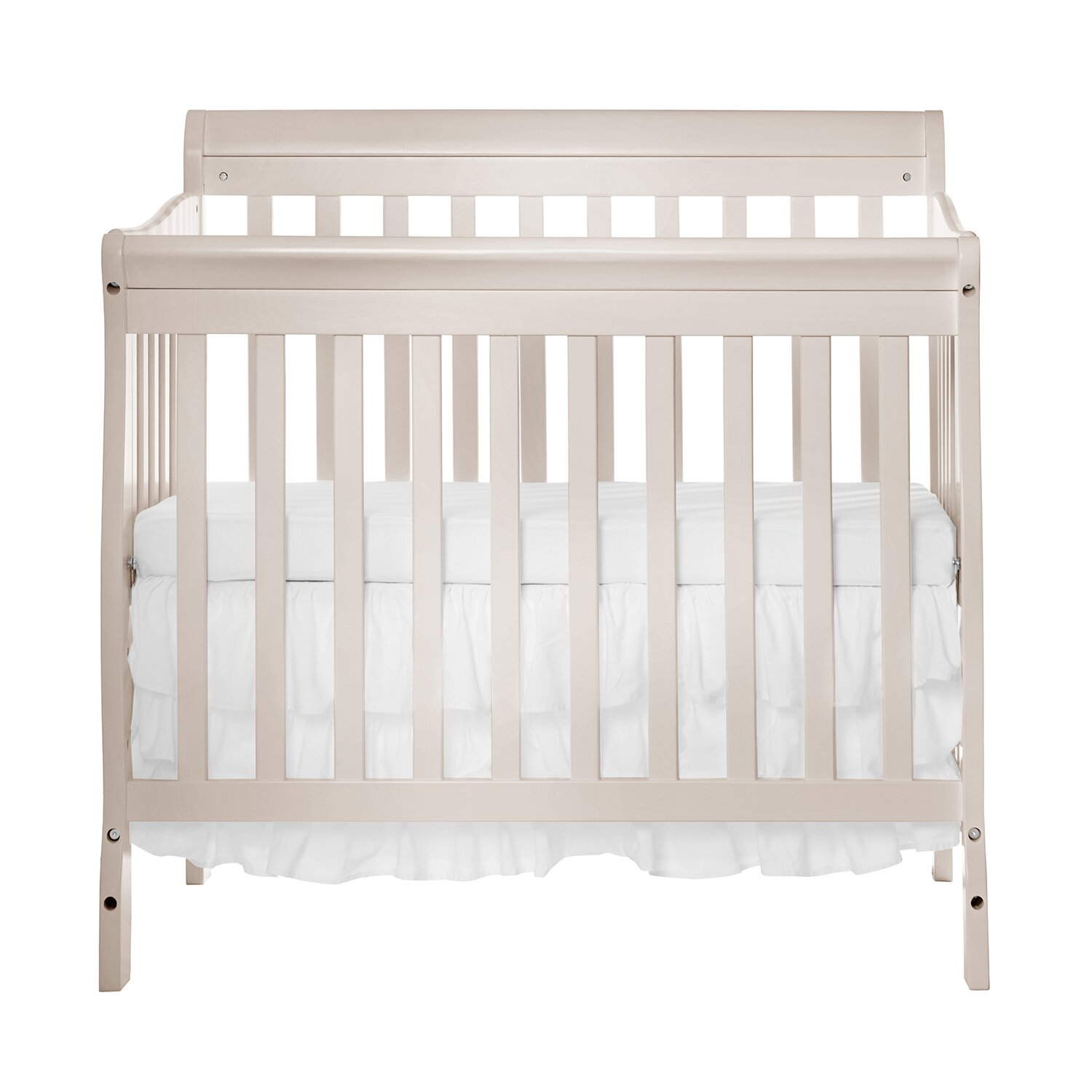 Dream On Me Aden Convertible 4-in-1 Mini Crib & Reviews
