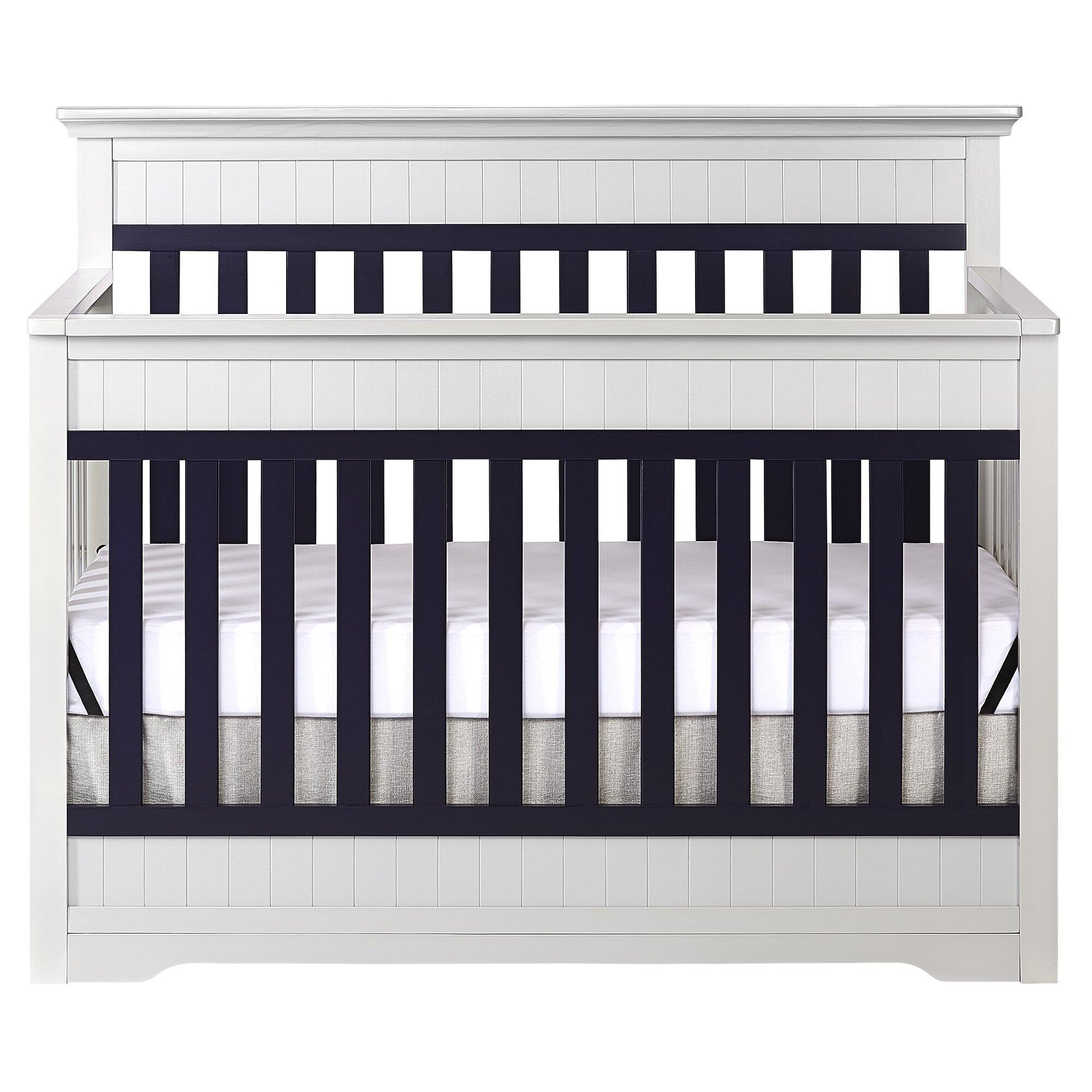 Dream On Me Chesapeake 5 In 1 Convertible Crib Amp Reviews Wayfair