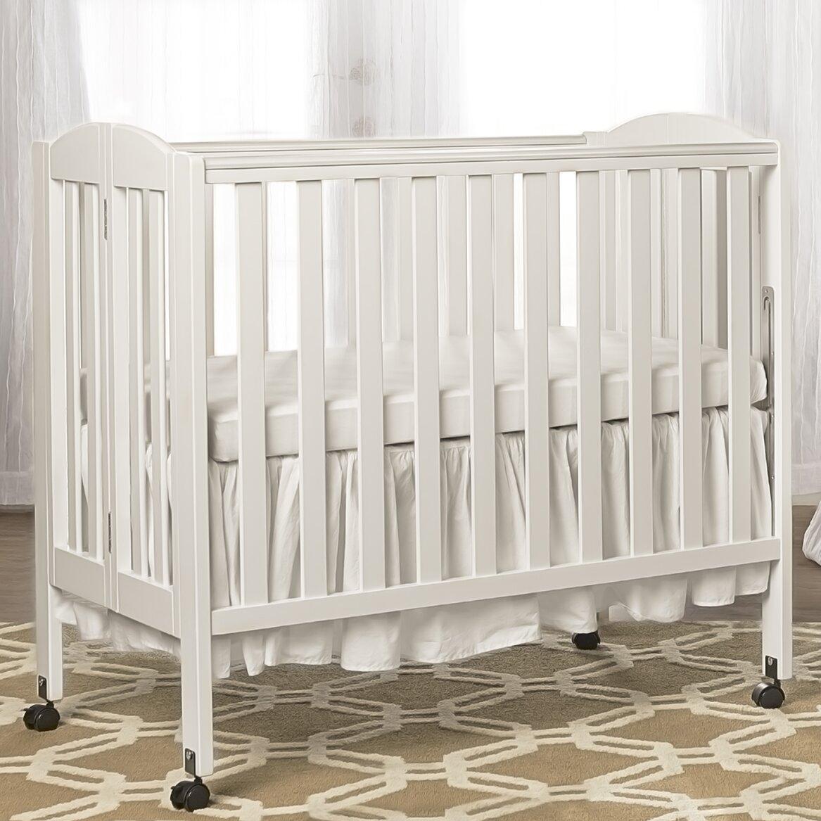 Dream On Me 3 In 1 Portable Convertible Folding Crib