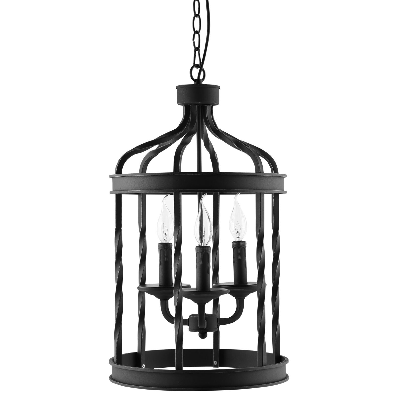 Foyer Lighting Lantern : Modway lantern light foyer pendant reviews wayfair