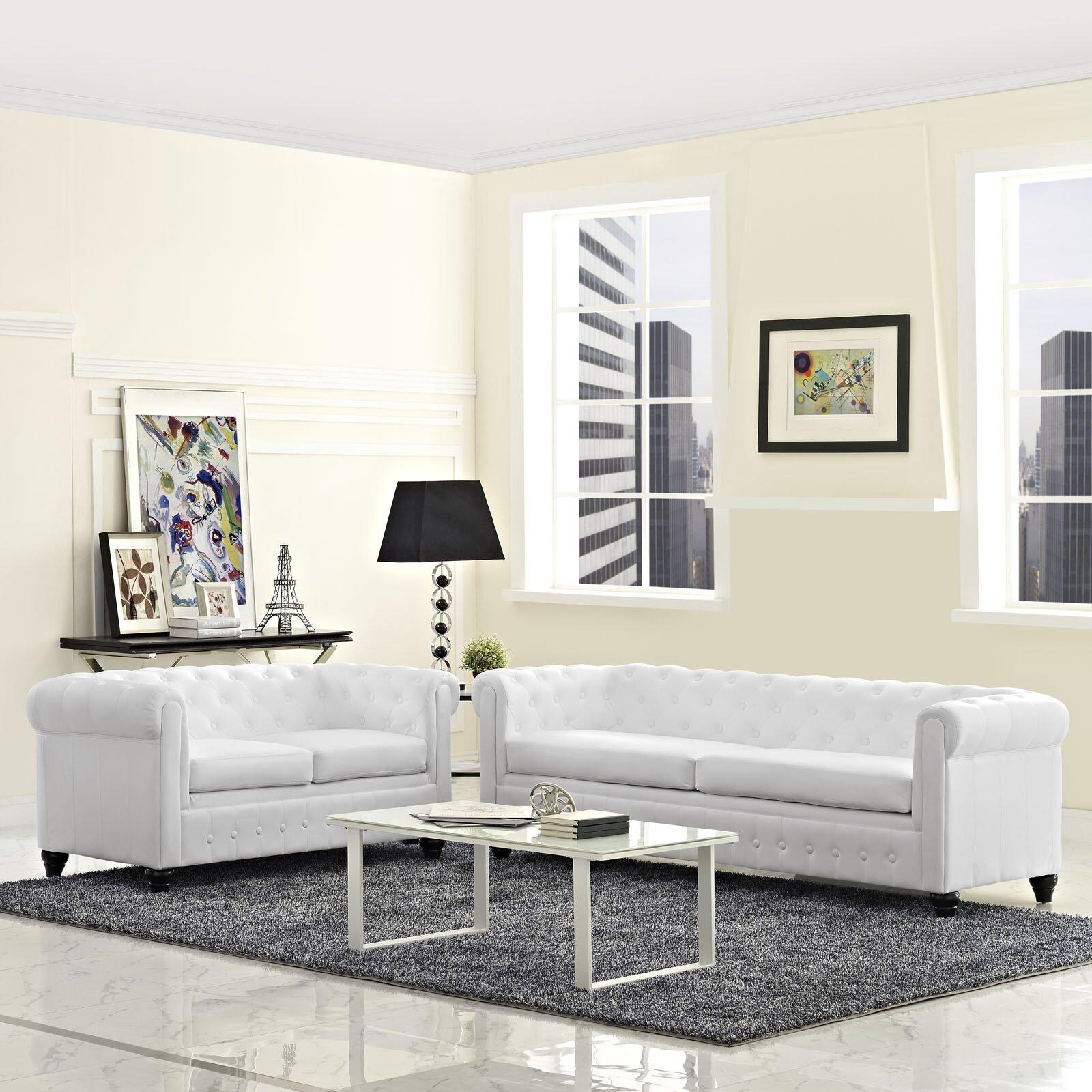 Modway earl 2 piece living room set reviews - Piece living room set ...