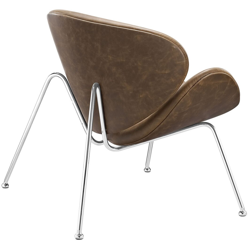 Modway Nutshell Lounge Chair with Cushion & Reviews