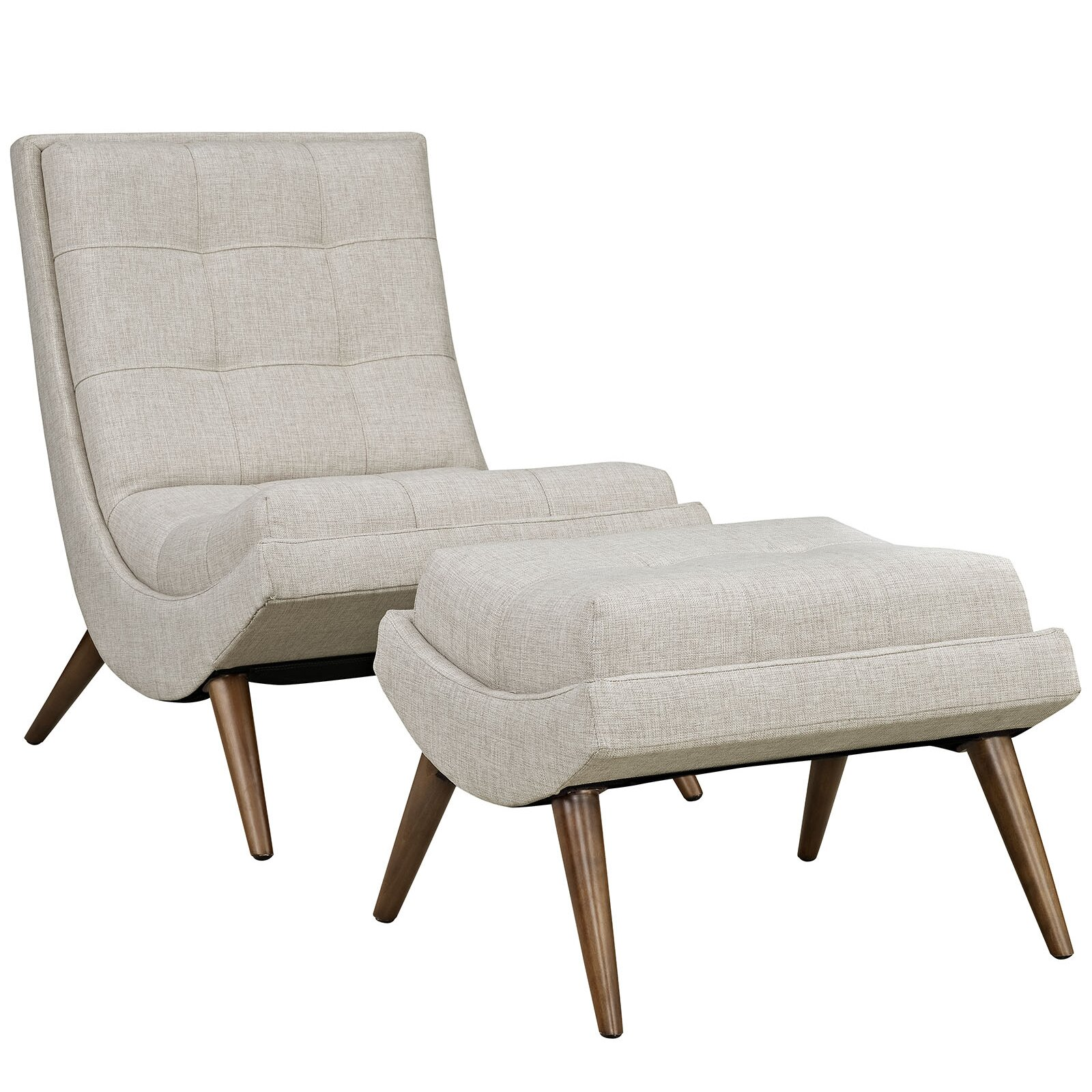 modway ramp fabric lounge chair and ottoman reviews. Black Bedroom Furniture Sets. Home Design Ideas