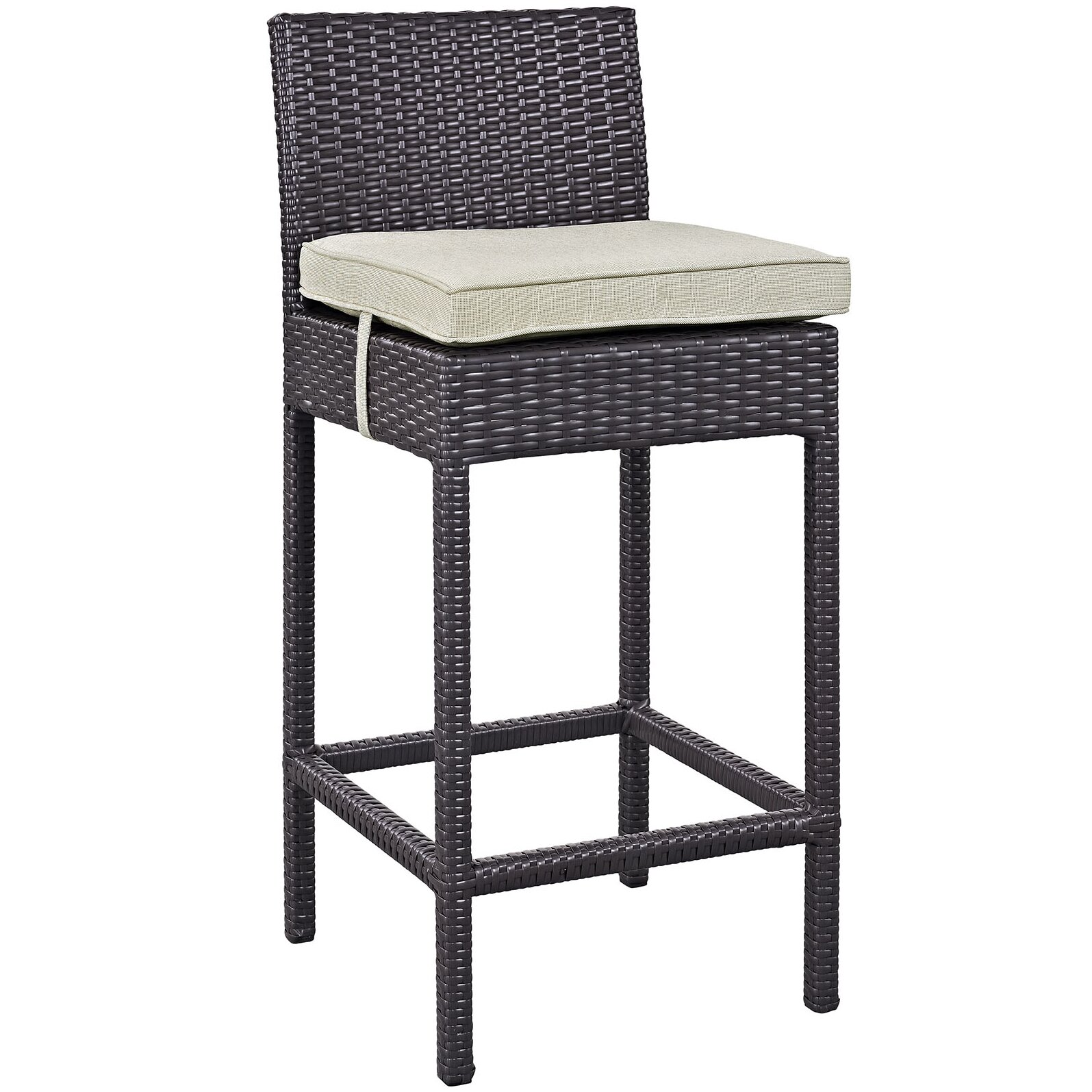 Modway Convene Outdoor Patio Pub Dining Chair with  : Convene 4 Piece Outdoor Patio Pub Set with Cushions EEI 2218 EXP from www.wayfair.com size 1595 x 1595 jpeg 343kB