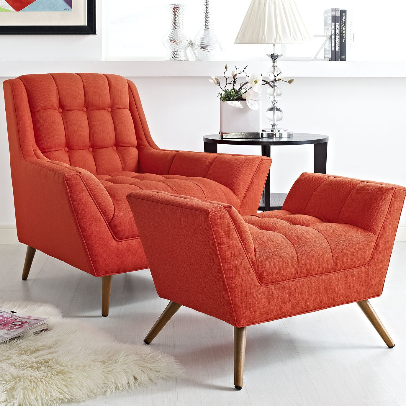 modway response 2 piece living room set reviews