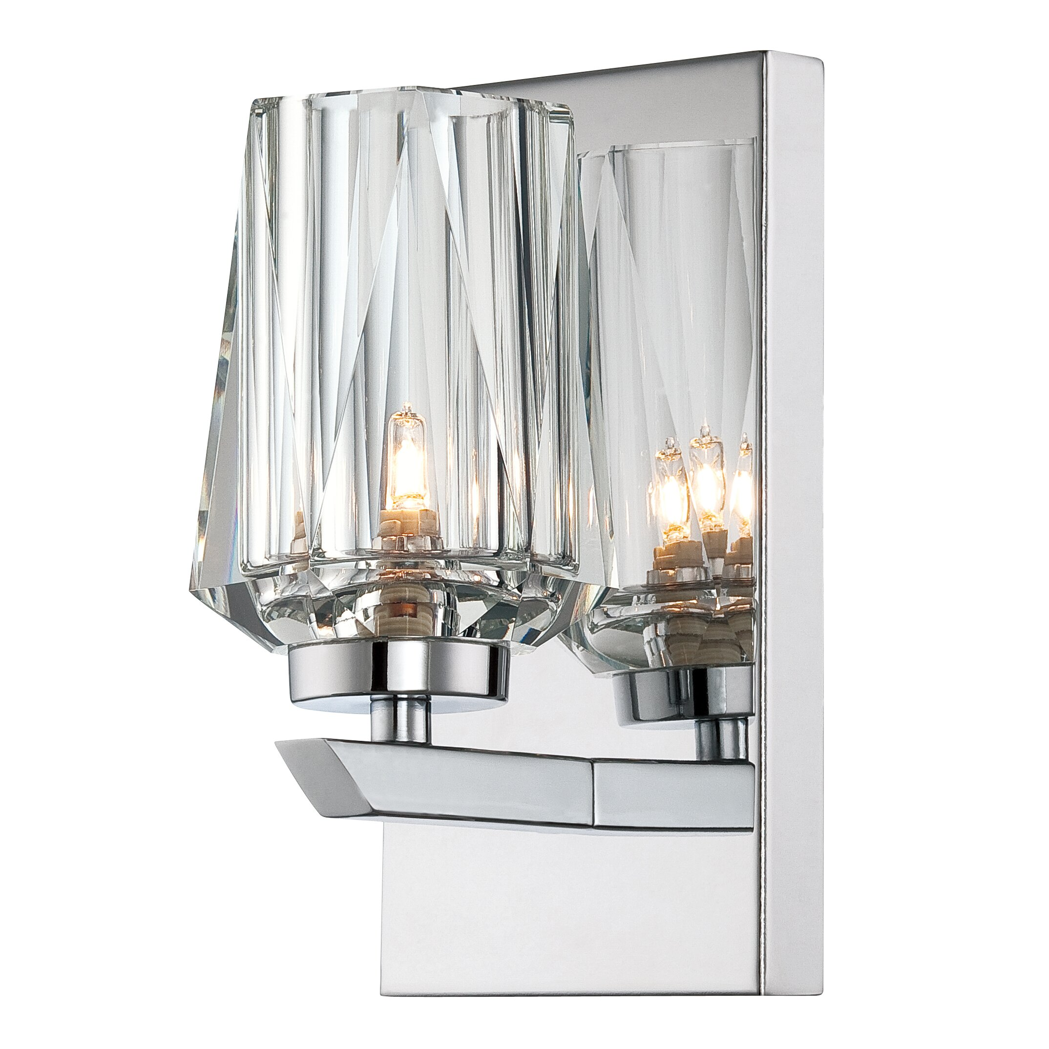 Alternating Current Ginsu 1 Light Bath Wall Sconce Reviews Wayfair