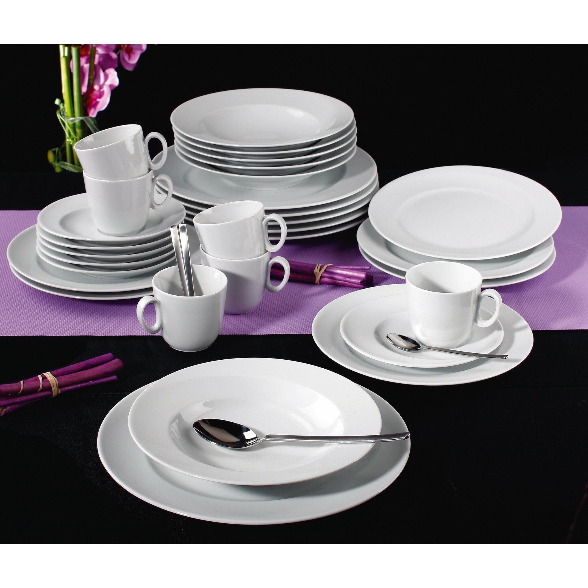 seltmann weiden paso 30 piece dinnerware set reviews wayfair uk. Black Bedroom Furniture Sets. Home Design Ideas
