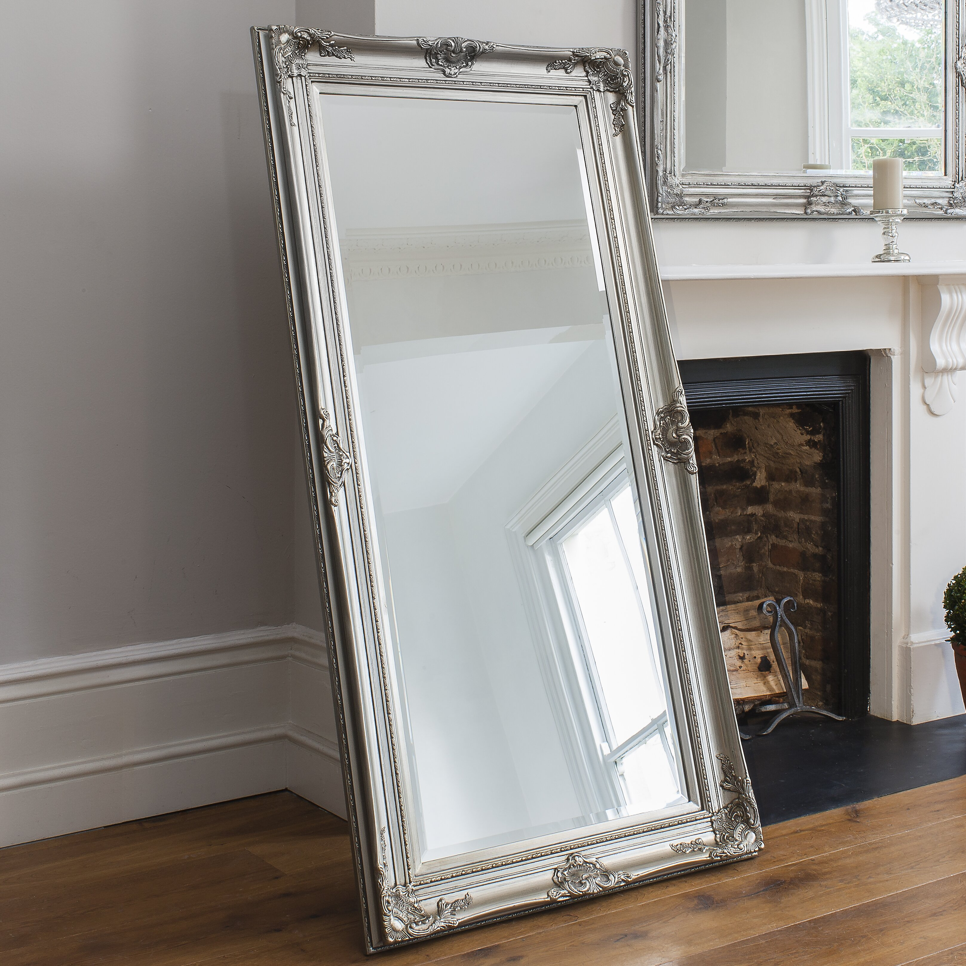 Gallery harrow full length mirror reviews wayfair uk for Full length window mirror