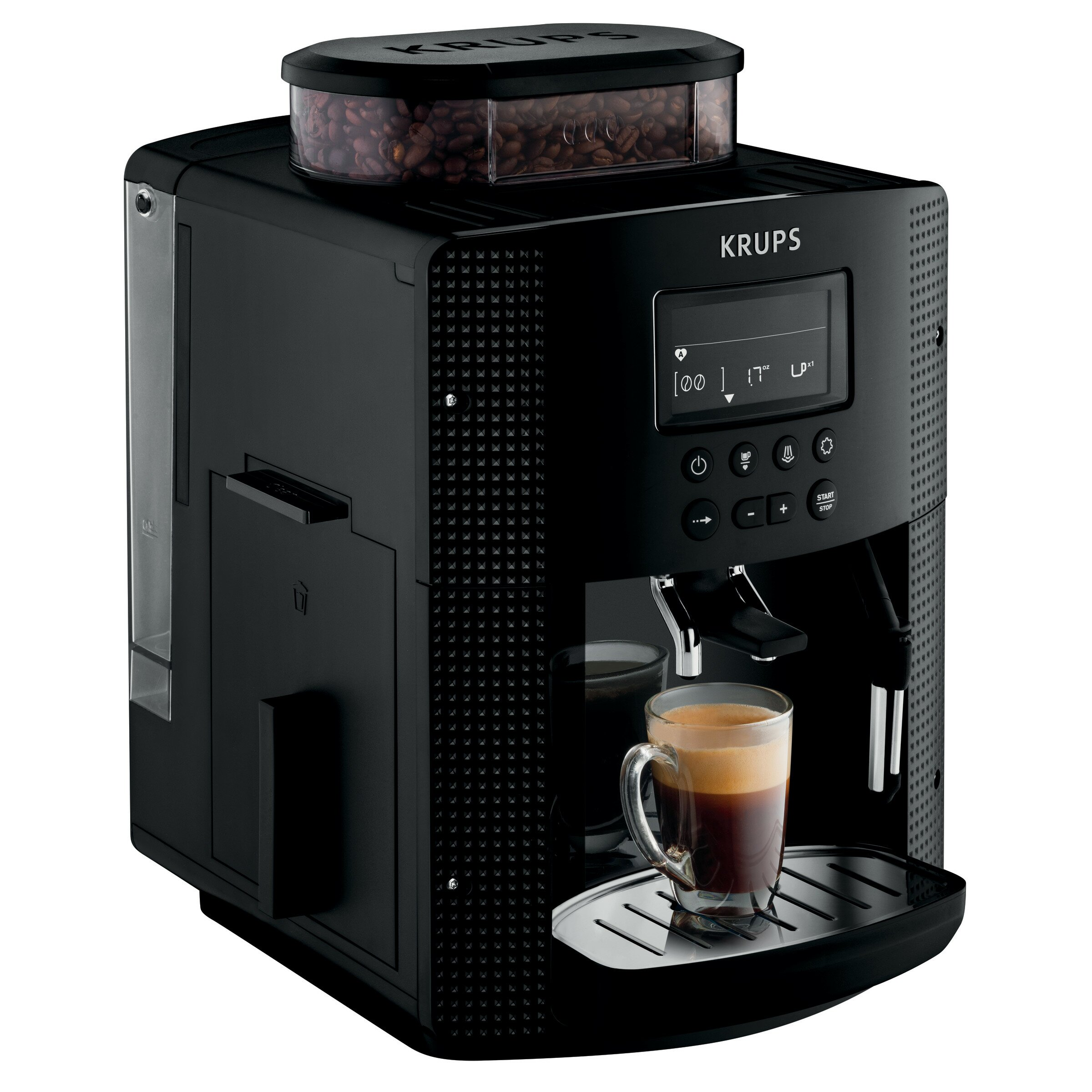 krups fully automatic compact pisa espresso machine wayfair. Black Bedroom Furniture Sets. Home Design Ideas