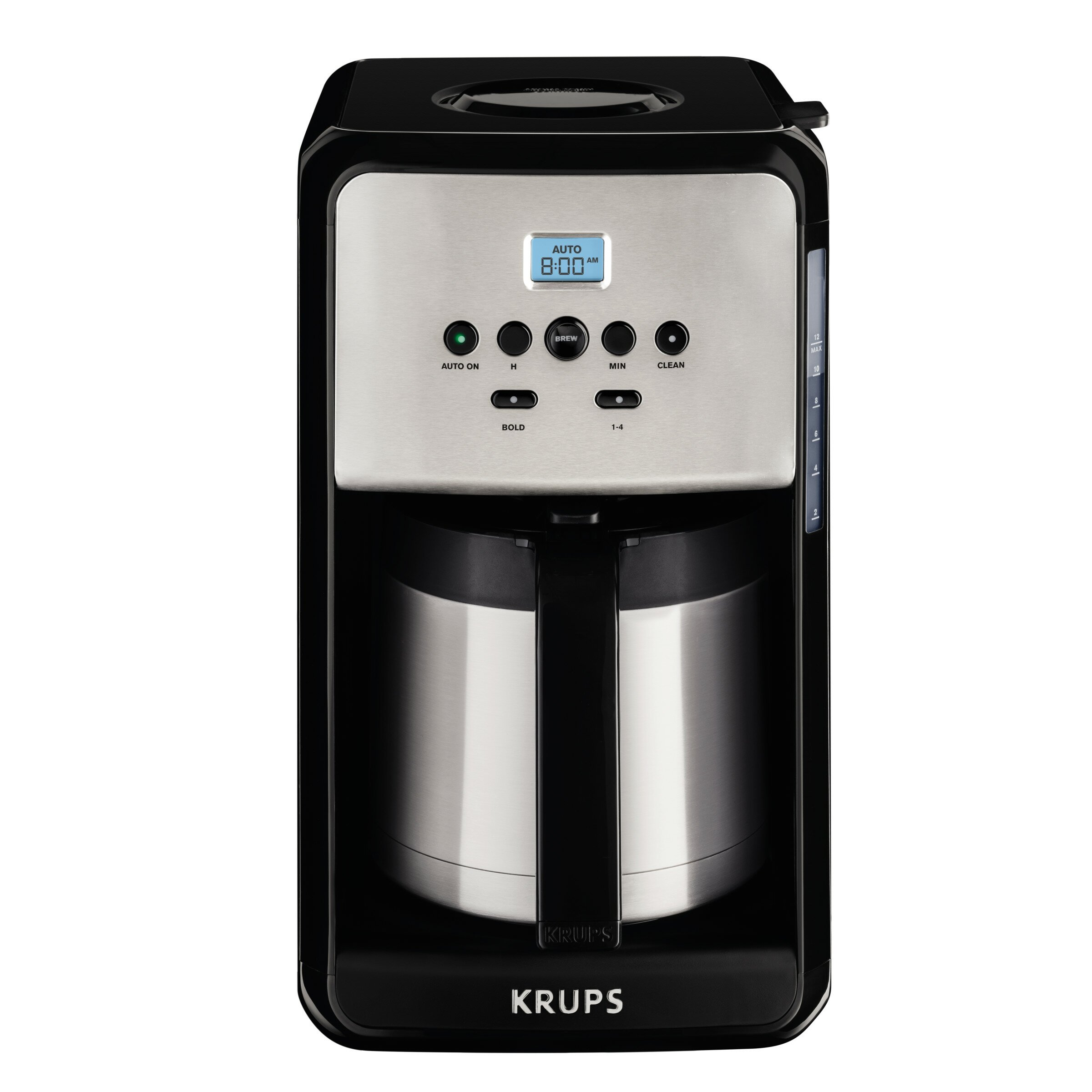 krups savoy programmable thermal filter coffee machine. Black Bedroom Furniture Sets. Home Design Ideas