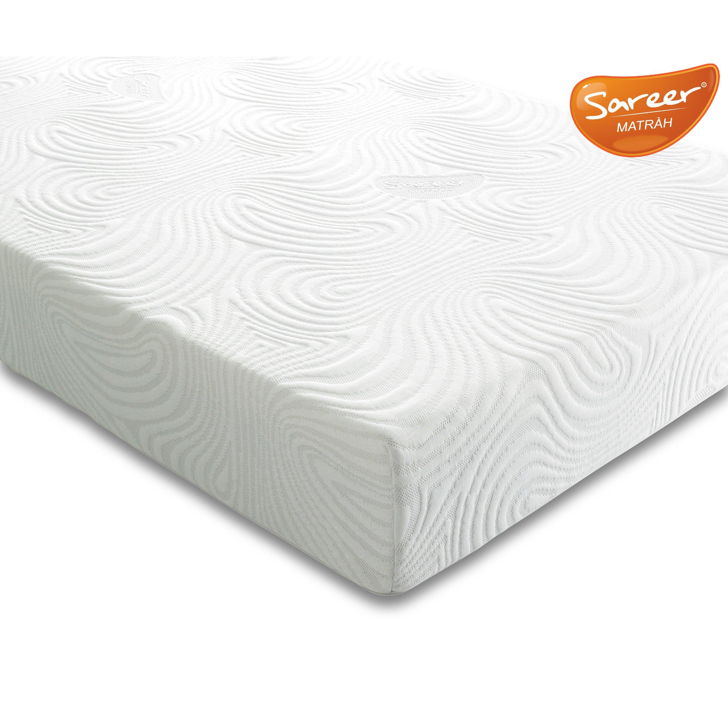 Sareer Furniture Latex Foam Mattress Reviews Wayfair Uk