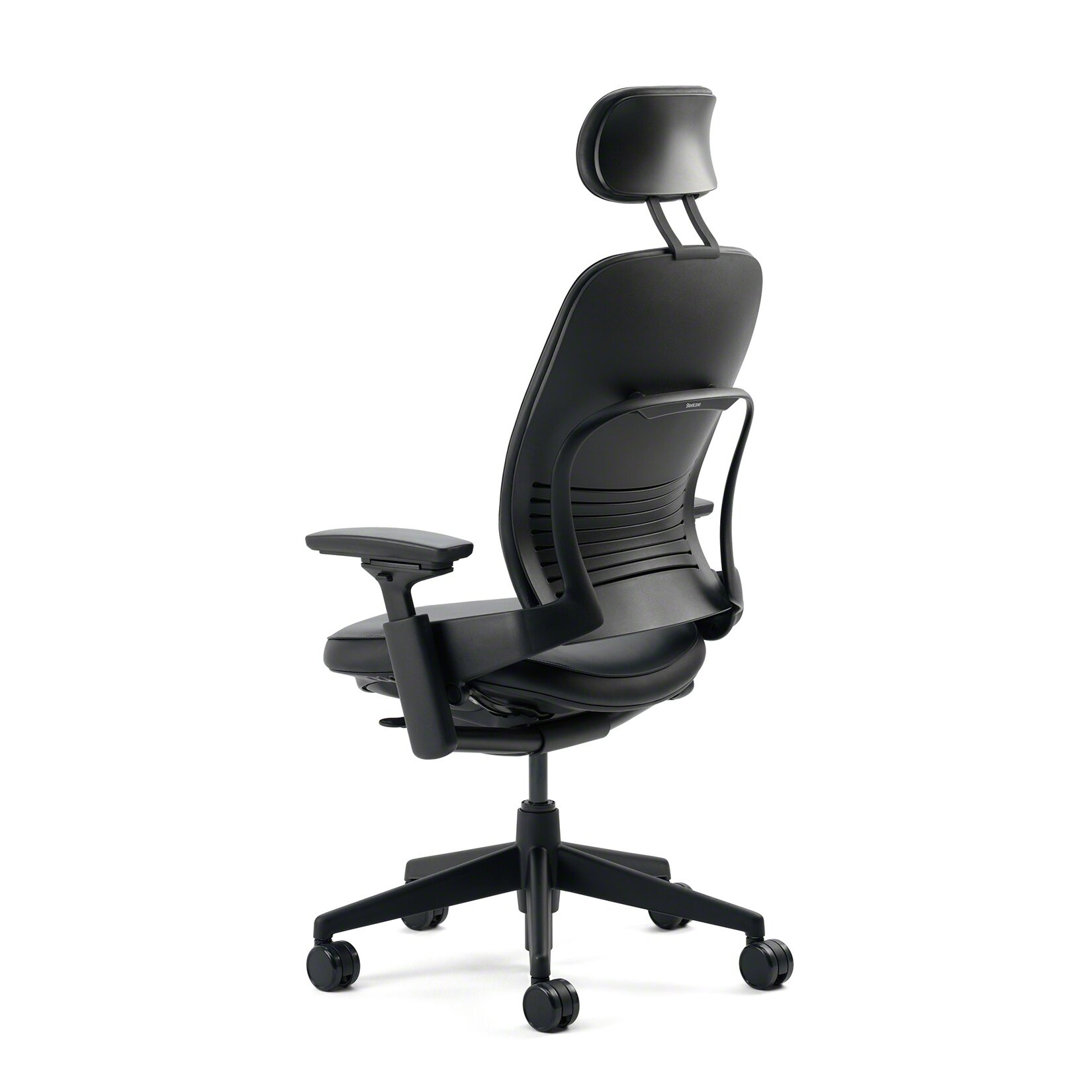 Steelcase Leap High Back Leather Desk Chair Reviews Wayfair
