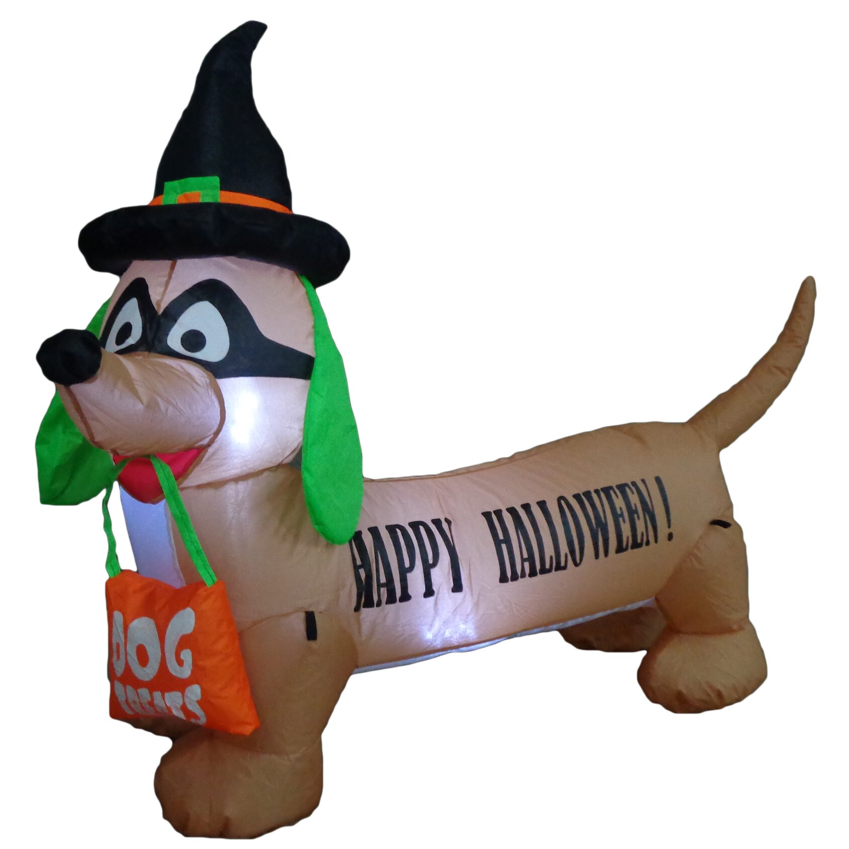 Bzb goods halloween inflatable dog indoor outdoor for Christmas cat yard decorations