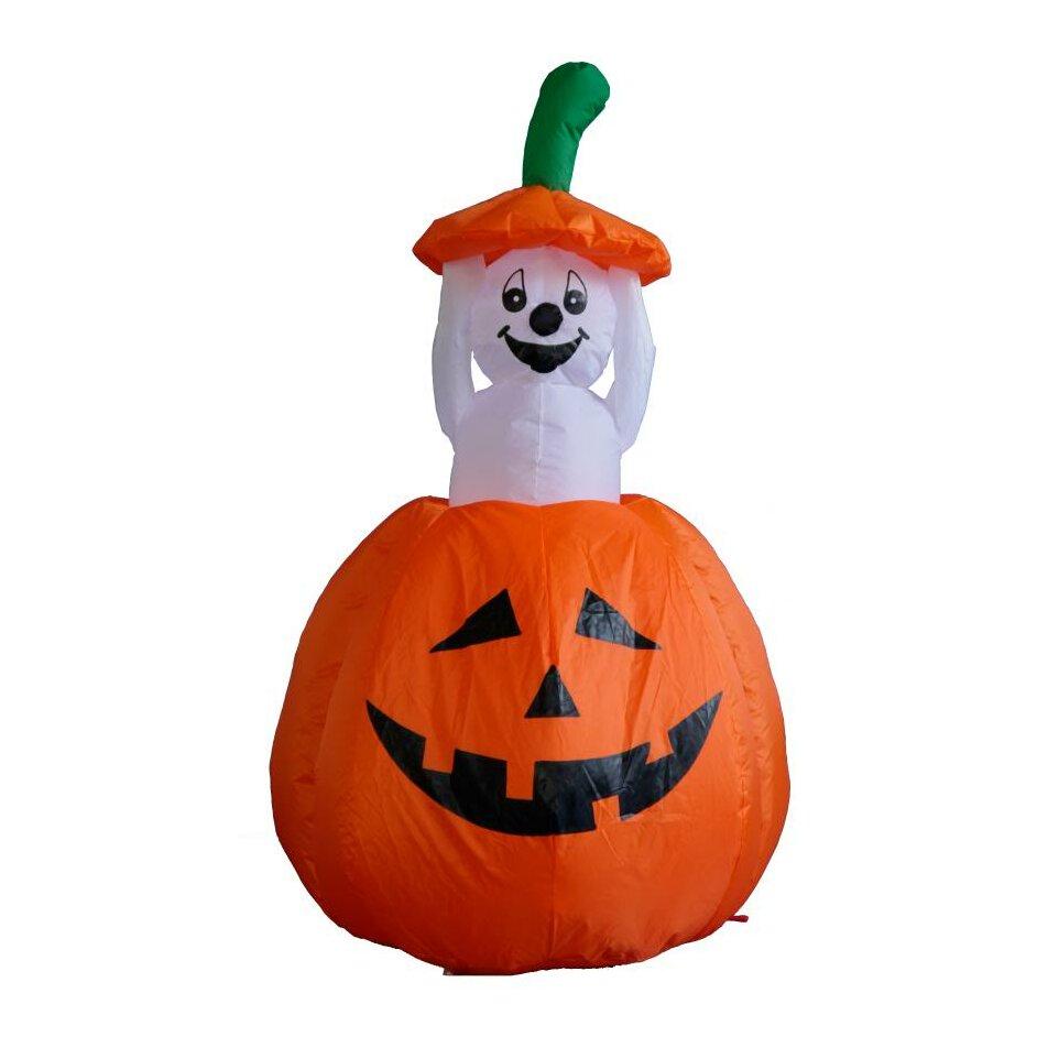 Outdoor inflatable halloween decorations - Bzb Goods Halloween Inflatable Pumpkin Ghost Decoration