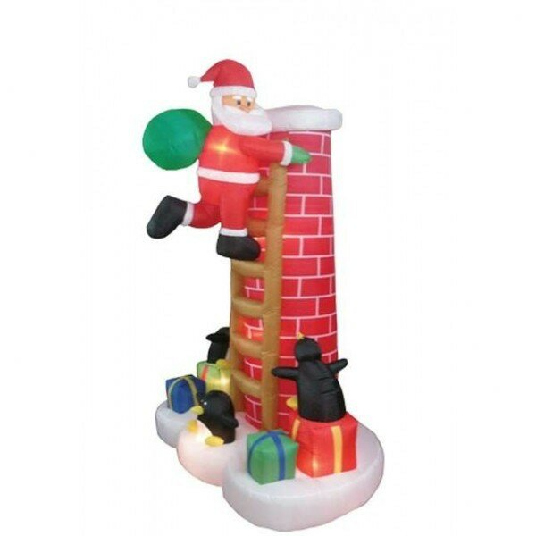 Bzb goods christmas inflatable santa claus climbing