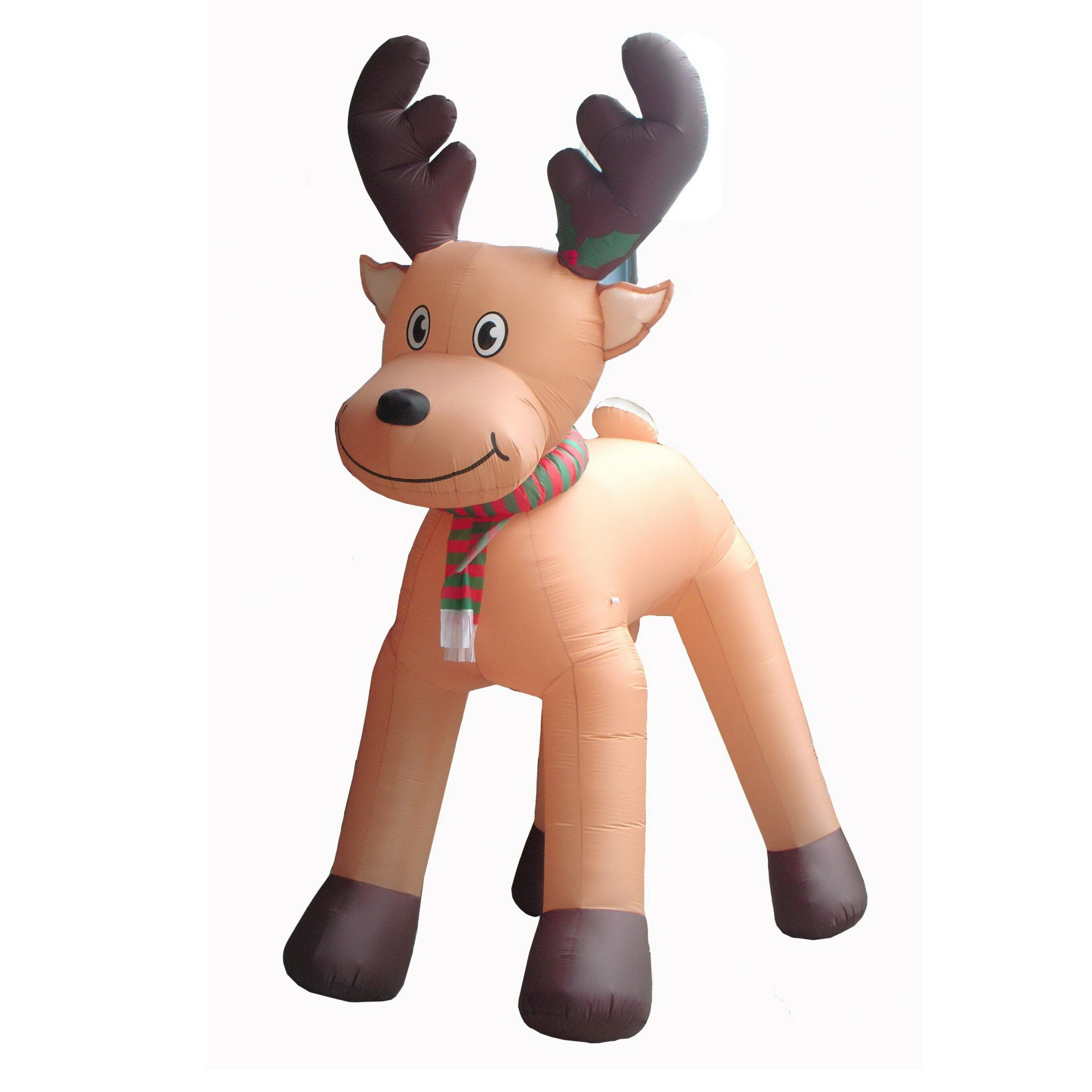Deer bathroom decor - Bzb Goods Christmas Inflatables Animated Reindeer