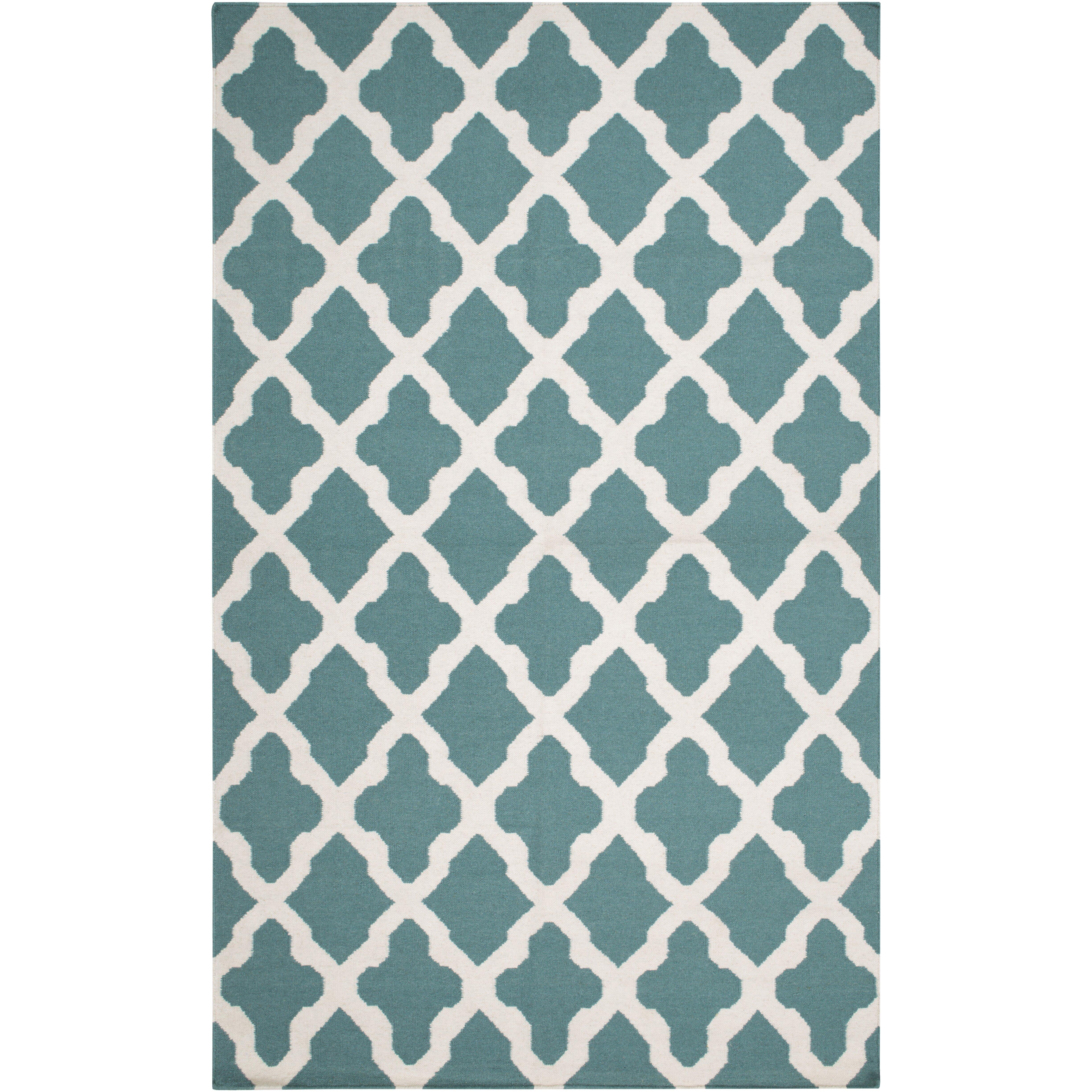 Artistic Weavers York Teal Geometric Olivia Area Rug Reviews Wayfair