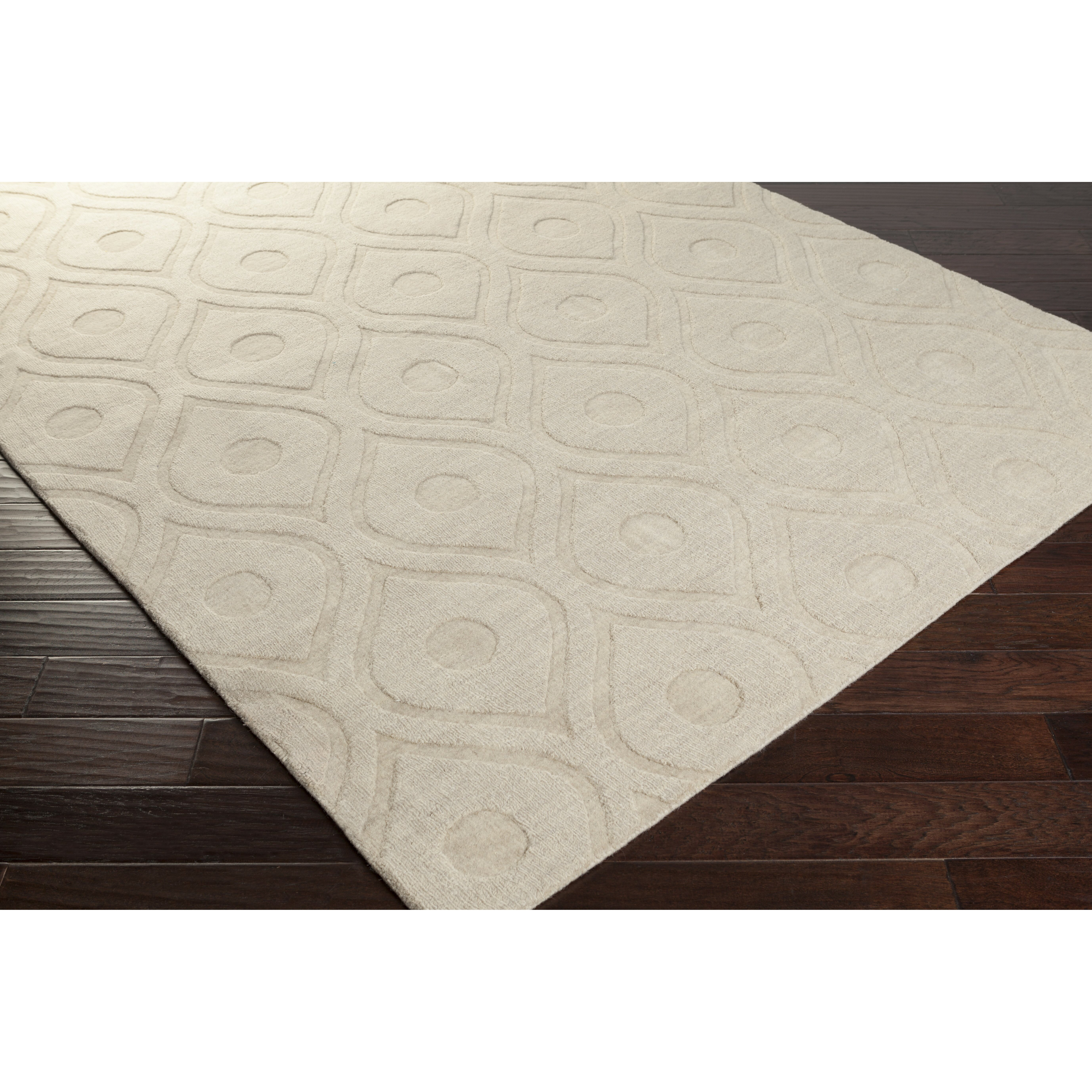 Artistic Weavers Central Park Ivory Geometric Zara Area