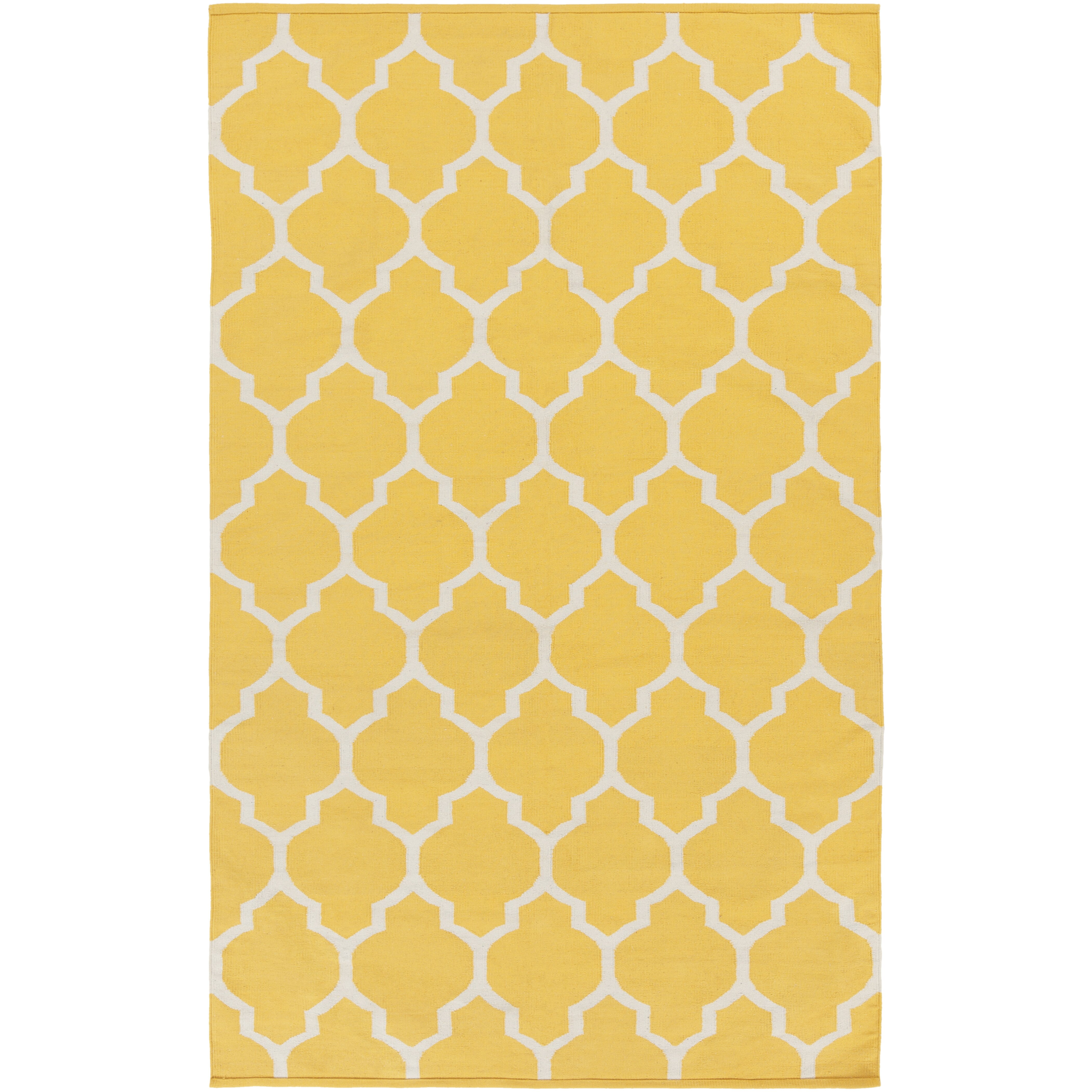 Artistic Weavers Vogue Yellow Geometric Claire Area Rug