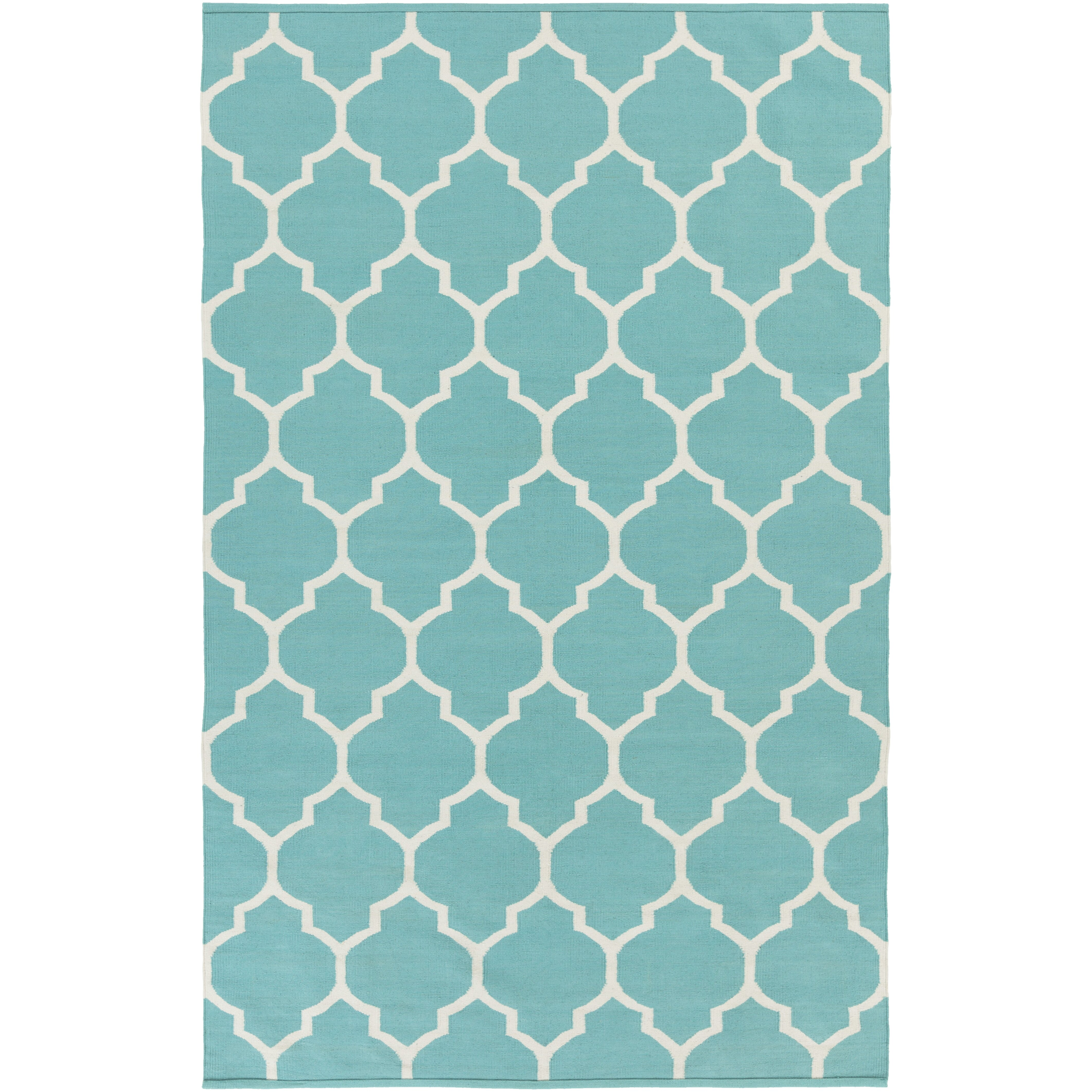 Artistic Weavers Vogue Teal Geometric Claire Area Rug