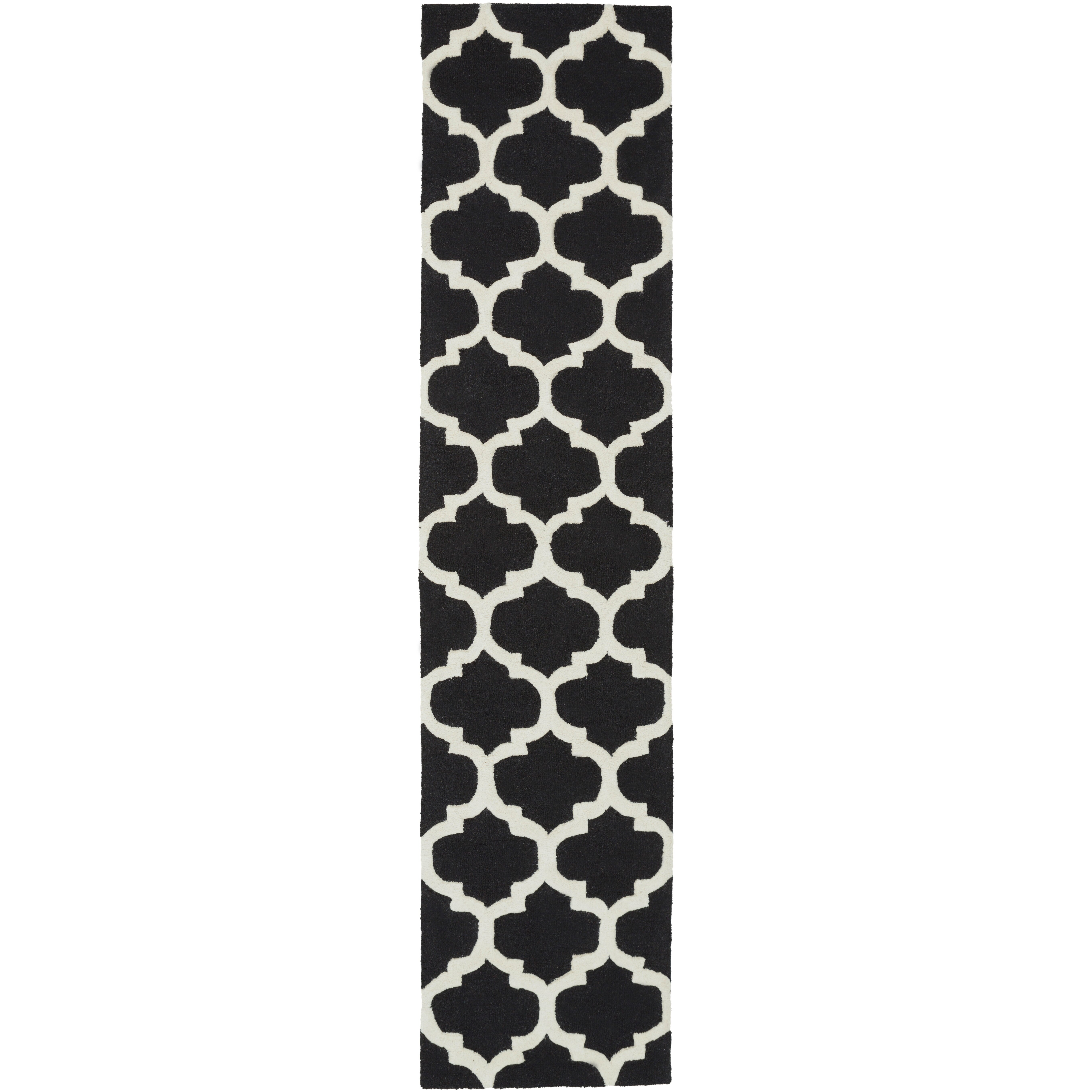 Artistic Weavers Pollack True Black and Ivory White ...