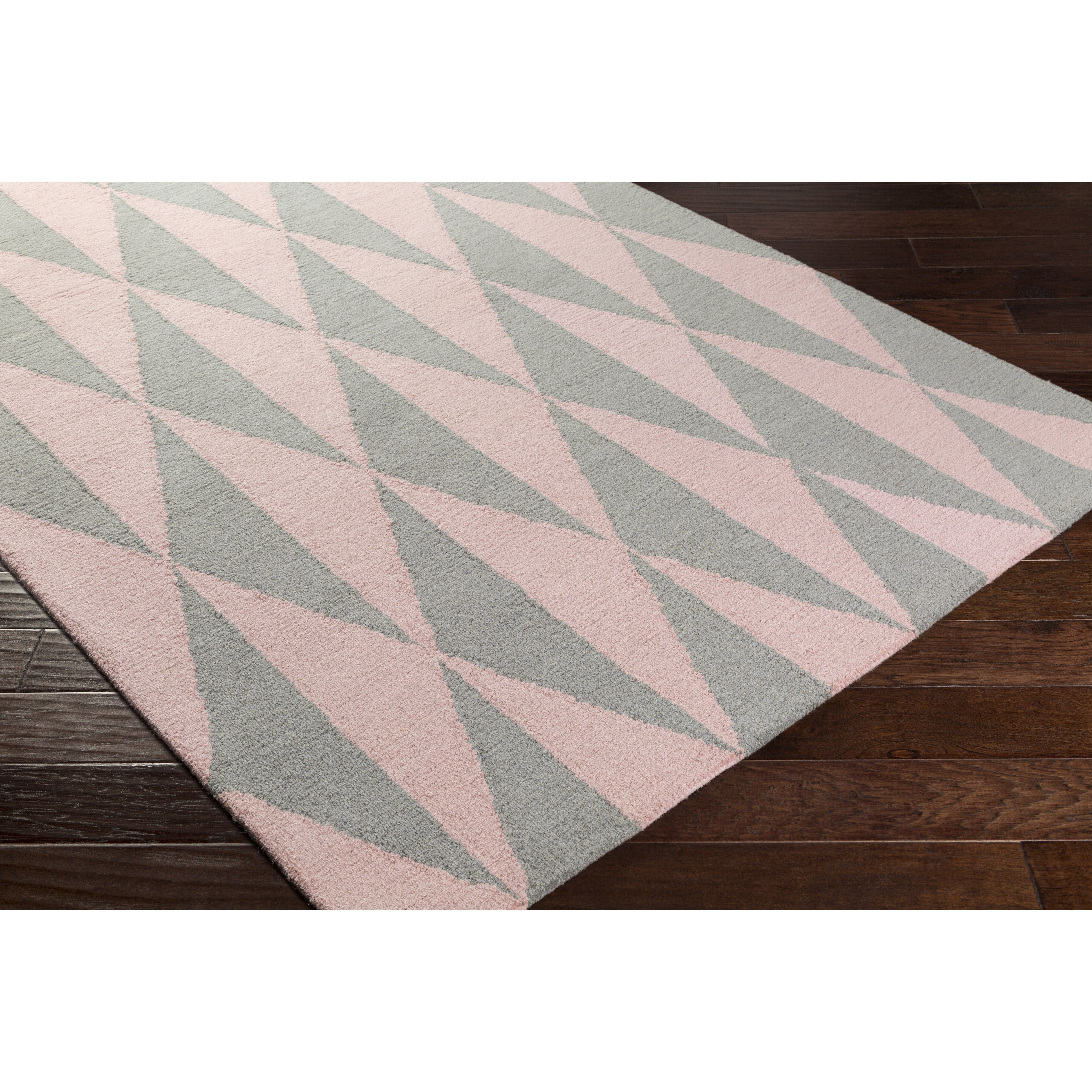 artistic weavers hilda sonja crafted gray light pink