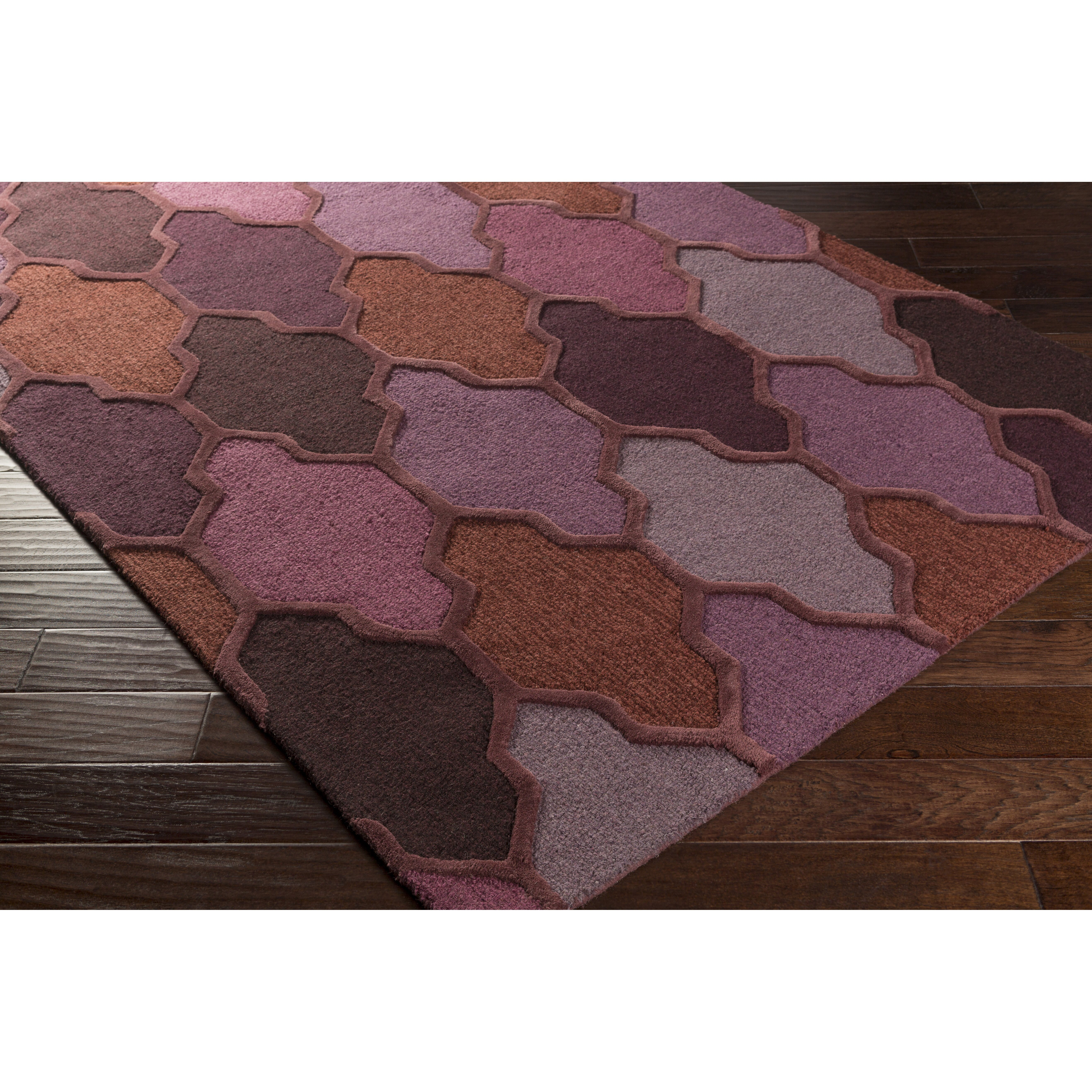 Xl Purple Rug: Artistic Weavers Pollack Morgan Purple Area Rug & Reviews