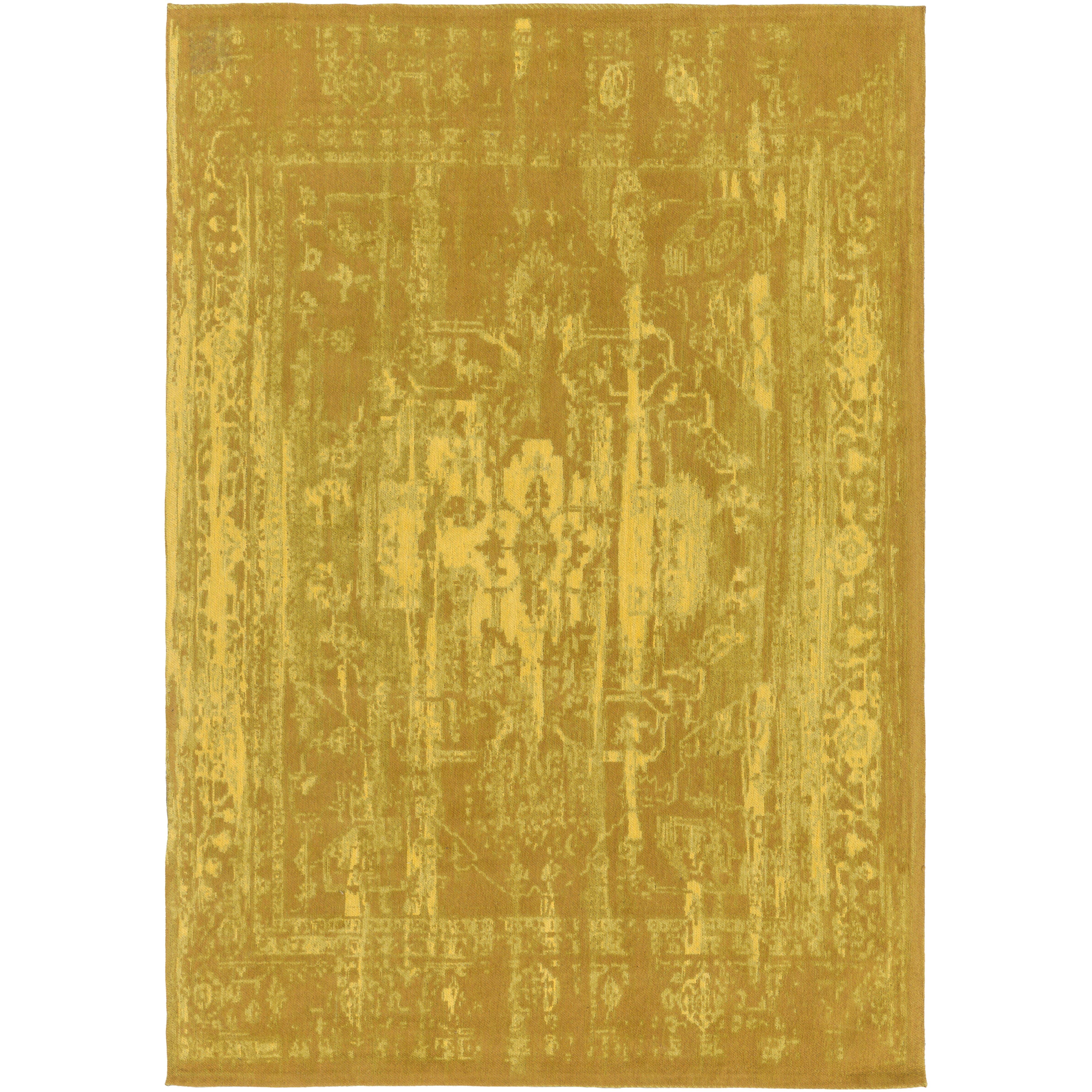 Artistic Weavers Elegant Maya Hand Woven Gold Area Rug