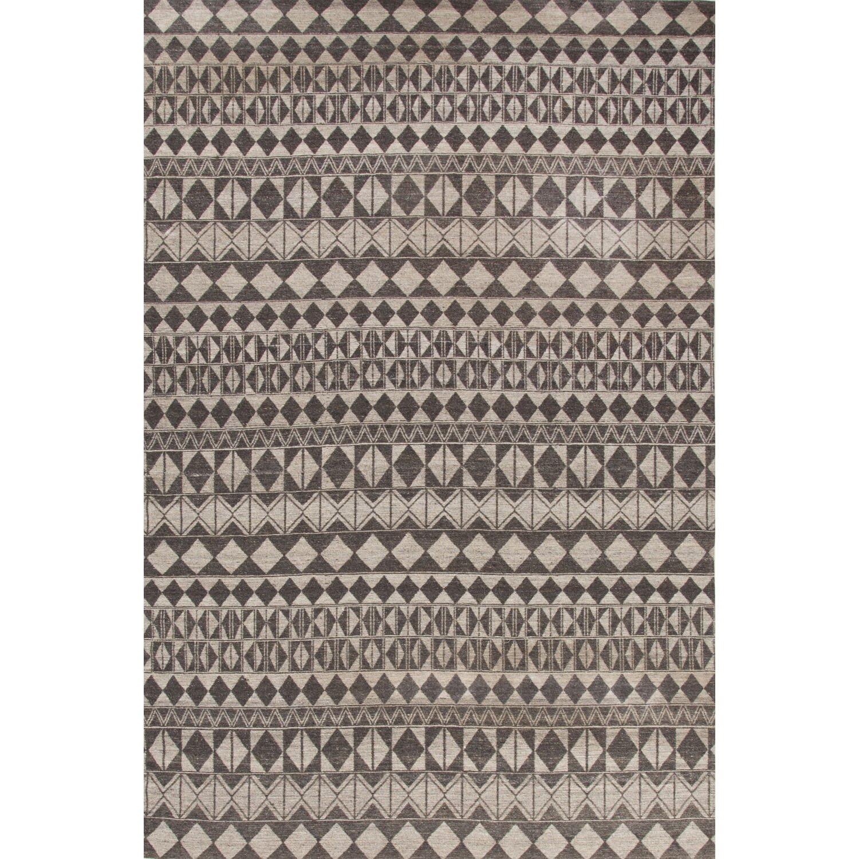 jaipurliving lindor black gray area rug reviews wayfair. Black Bedroom Furniture Sets. Home Design Ideas