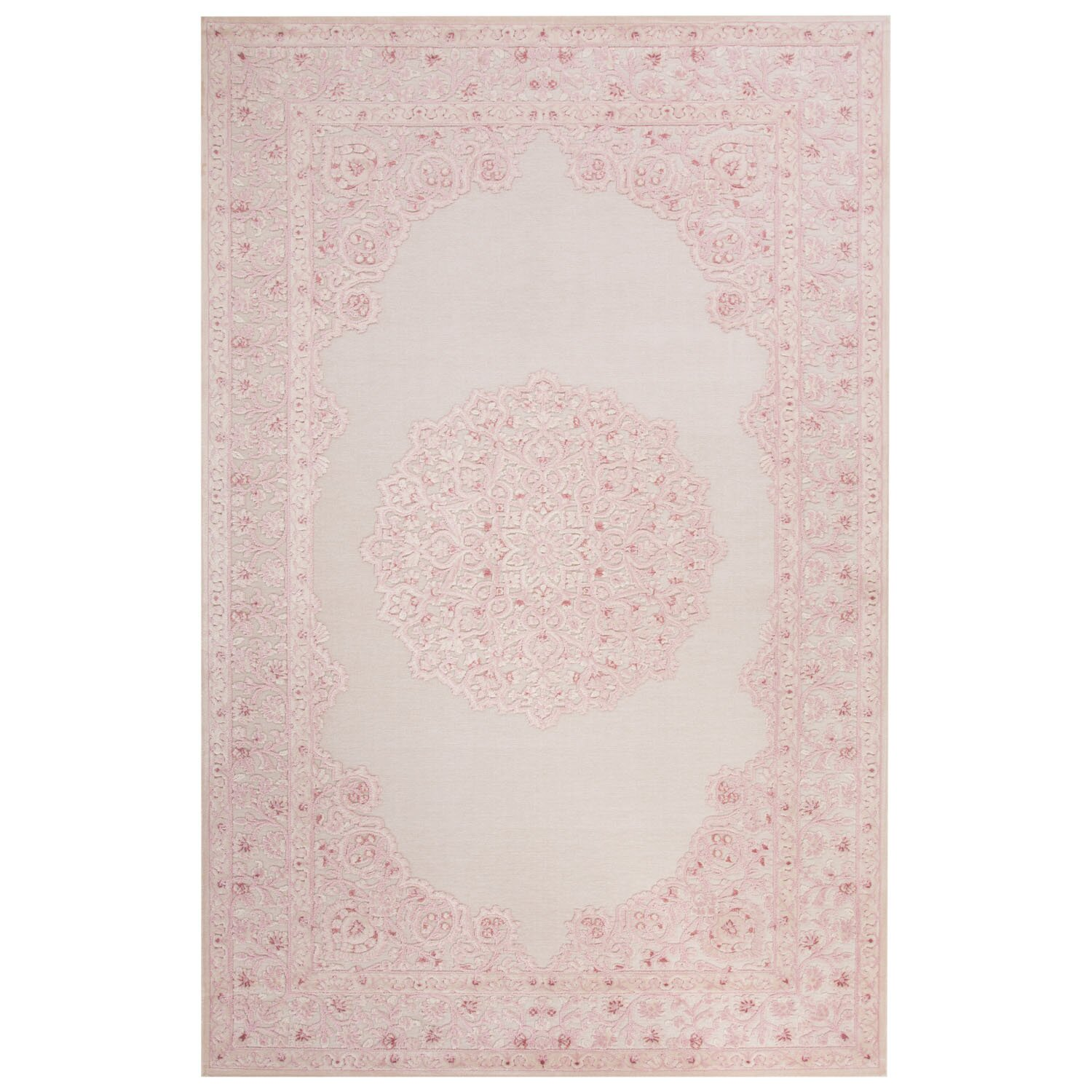 Jaipurliving Fables Ivory Pink Area Rug Amp Reviews Wayfair