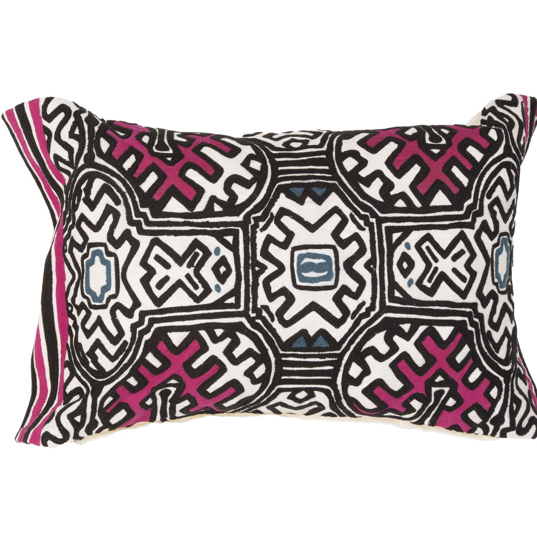 Modern Tribal Pillow Pattern : JaipurLiving Traditions Made Modern Tribal Pattern Lumbar Pillow Wayfair