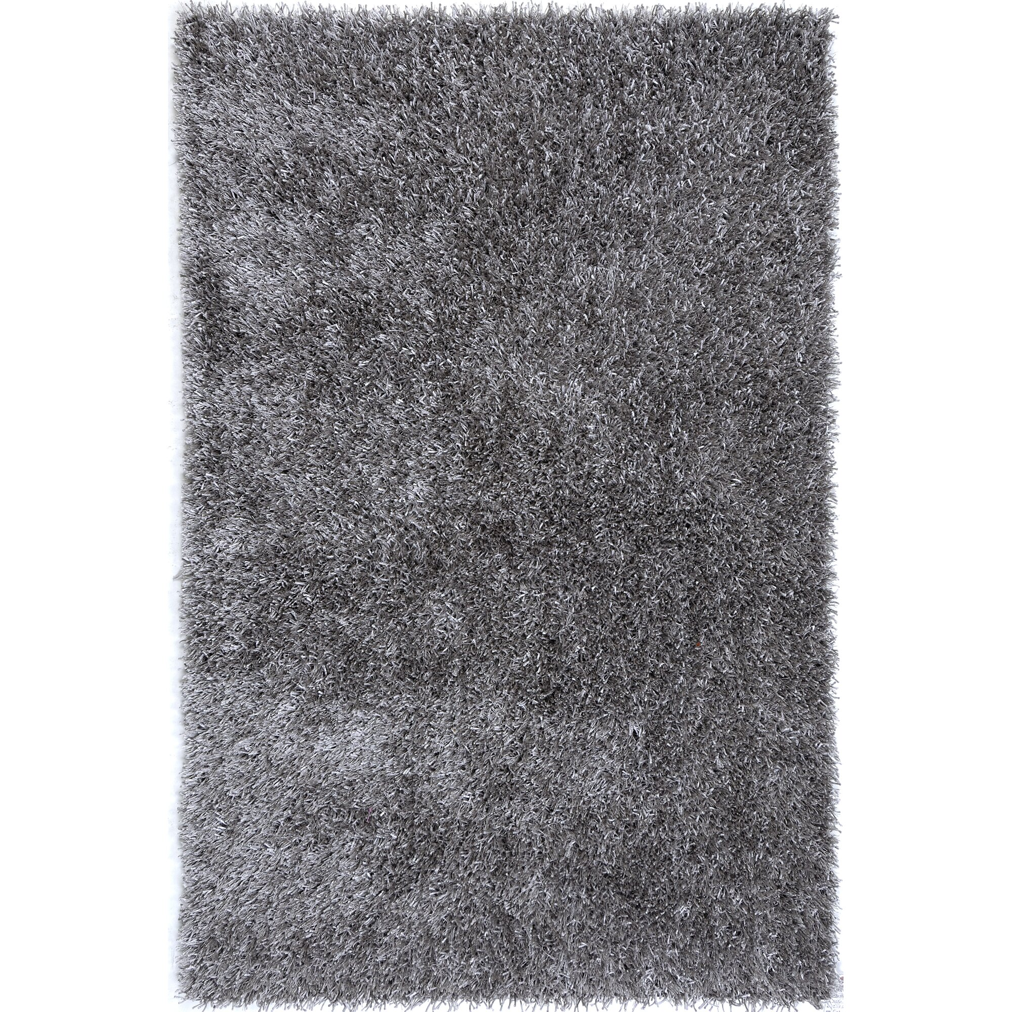 JaipurLiving Flux Cool Gray Shag Area Rug & Reviews