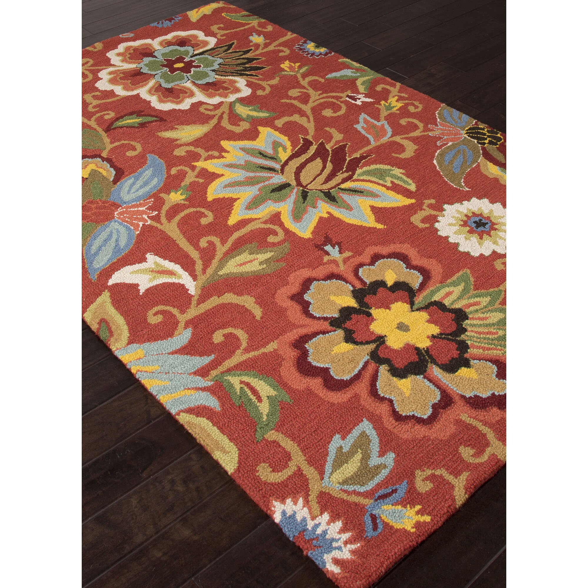 Jaipurliving Hacienda Floral Area Rug Amp Reviews Wayfair