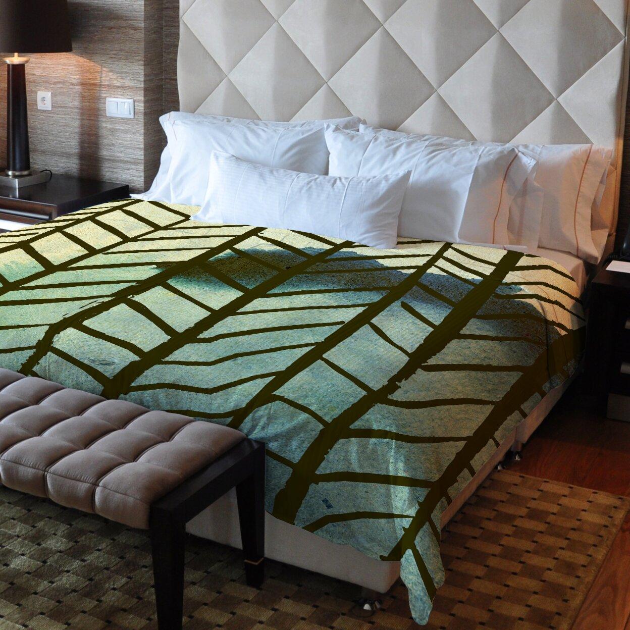 One Bella Casa Downwards Fleece Duvet Cover Wayfair Ca