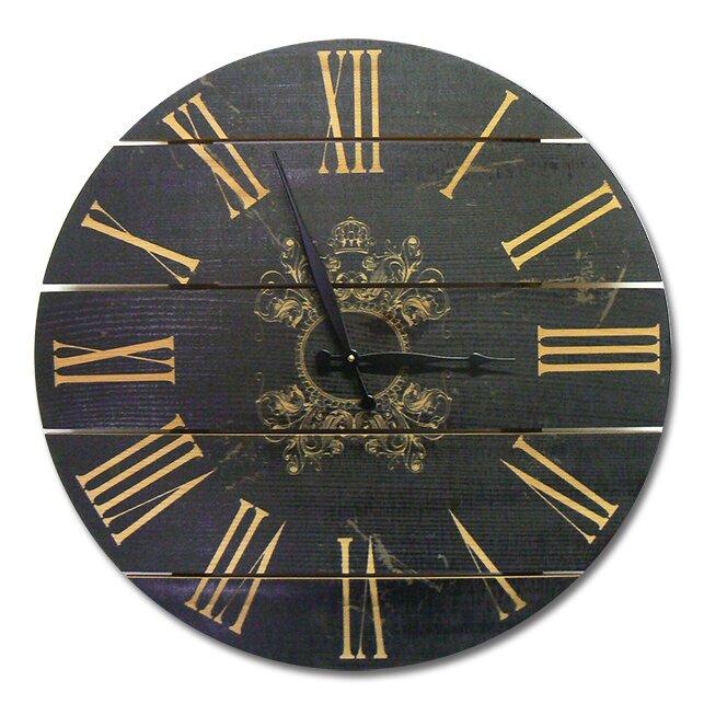 gizaun art french country 24 cedar wall clock reviews